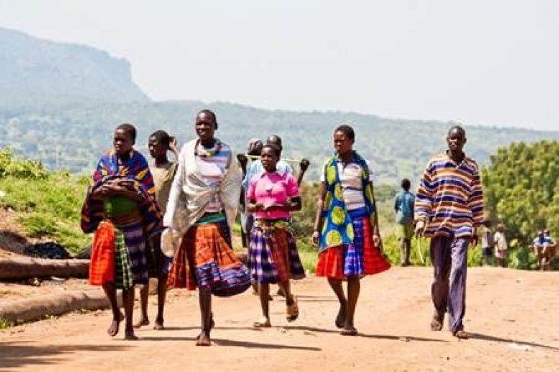 Women in Karamoja, Uganda