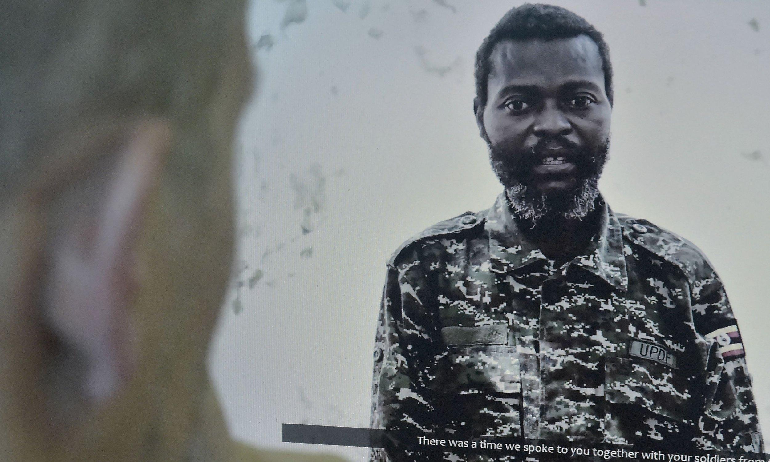 Ugandan soldier Al-Shabab