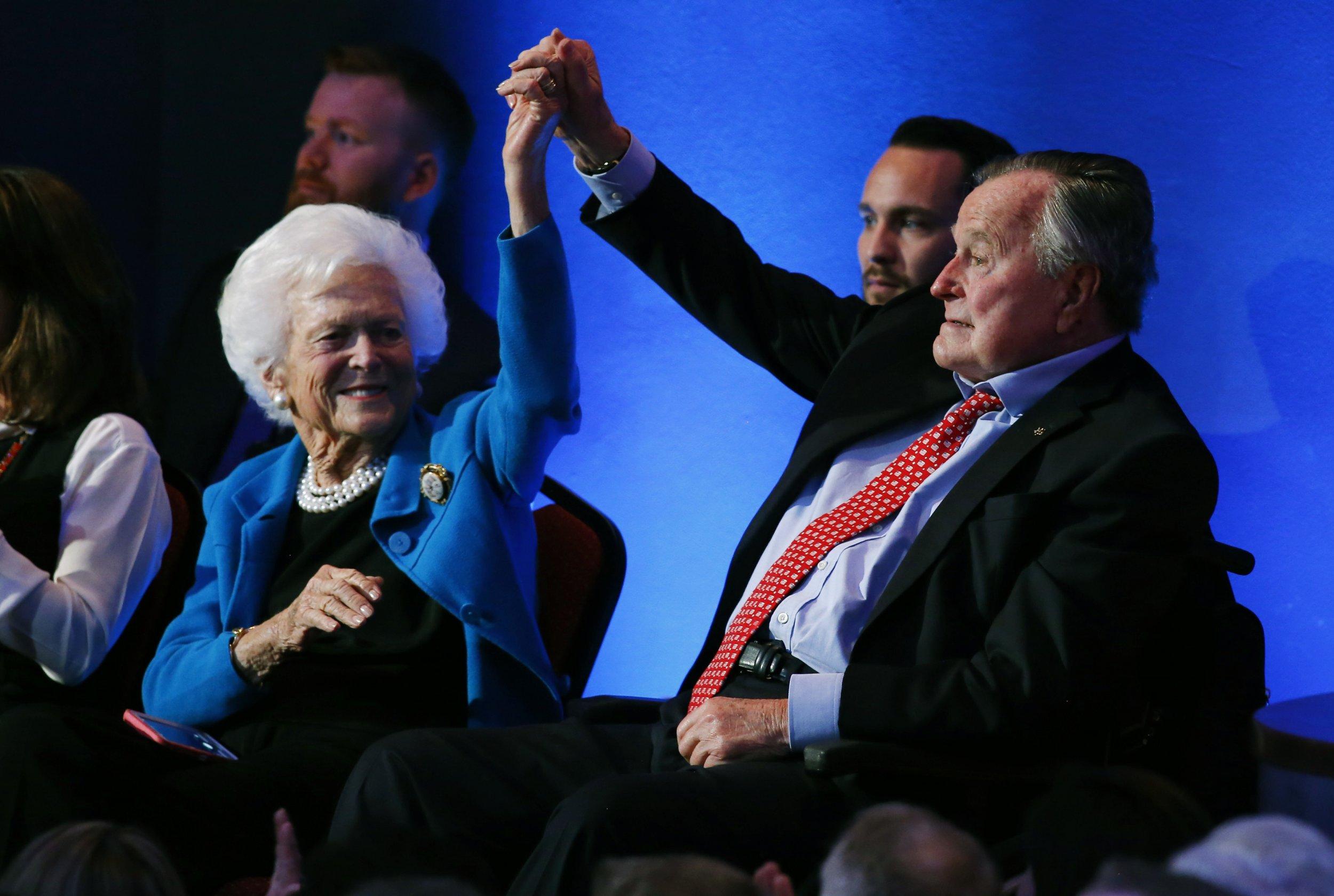 George H.W. Bush Barbara Bush