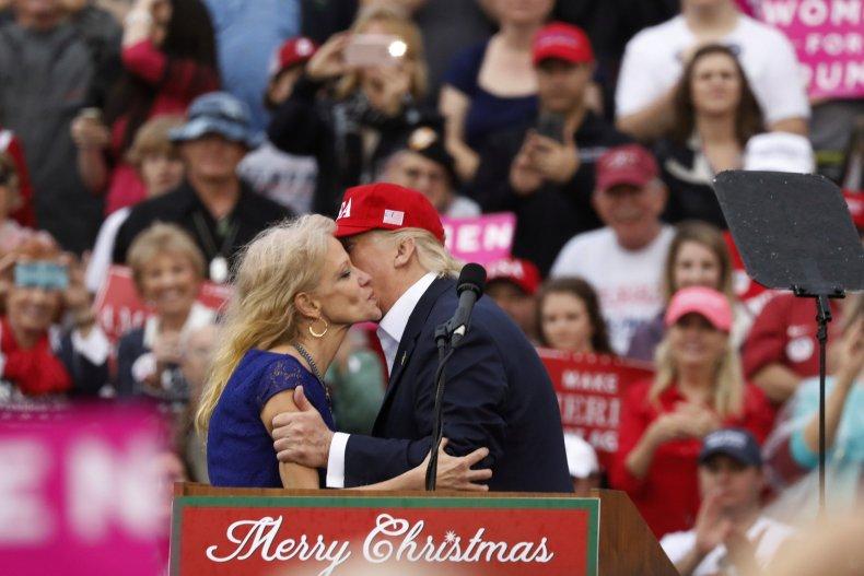 Kellyanne Conway and Trump