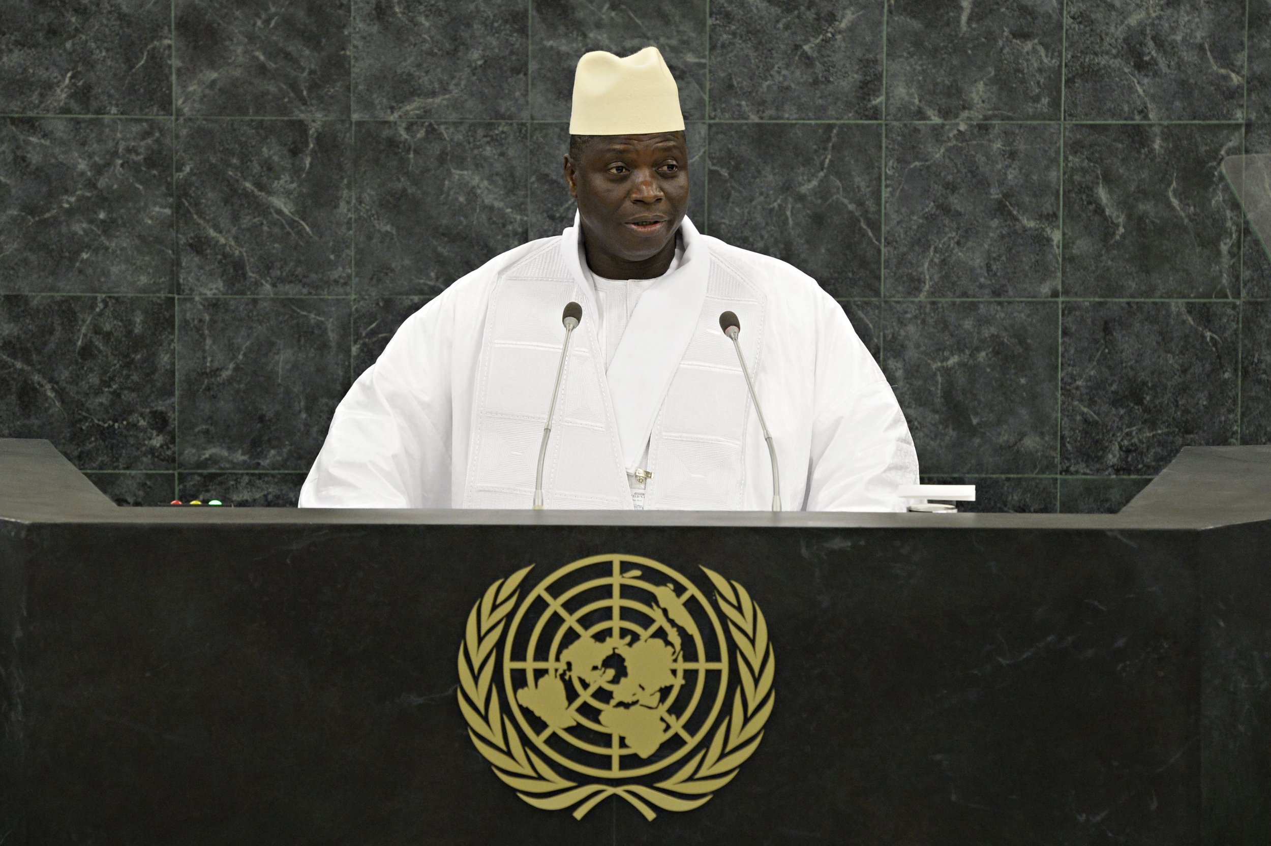 Yahya Jammeh UN