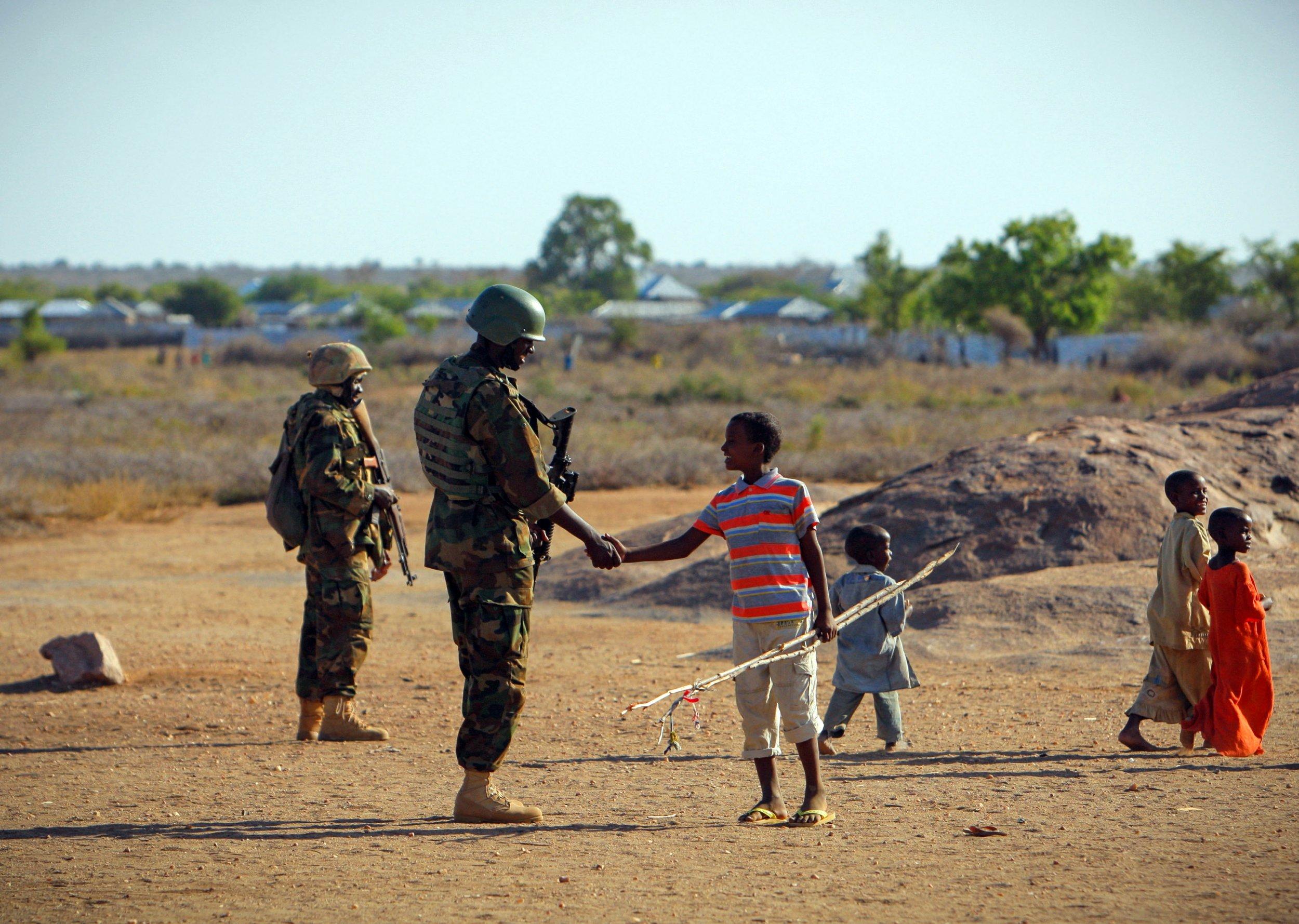 Somalia children soldier