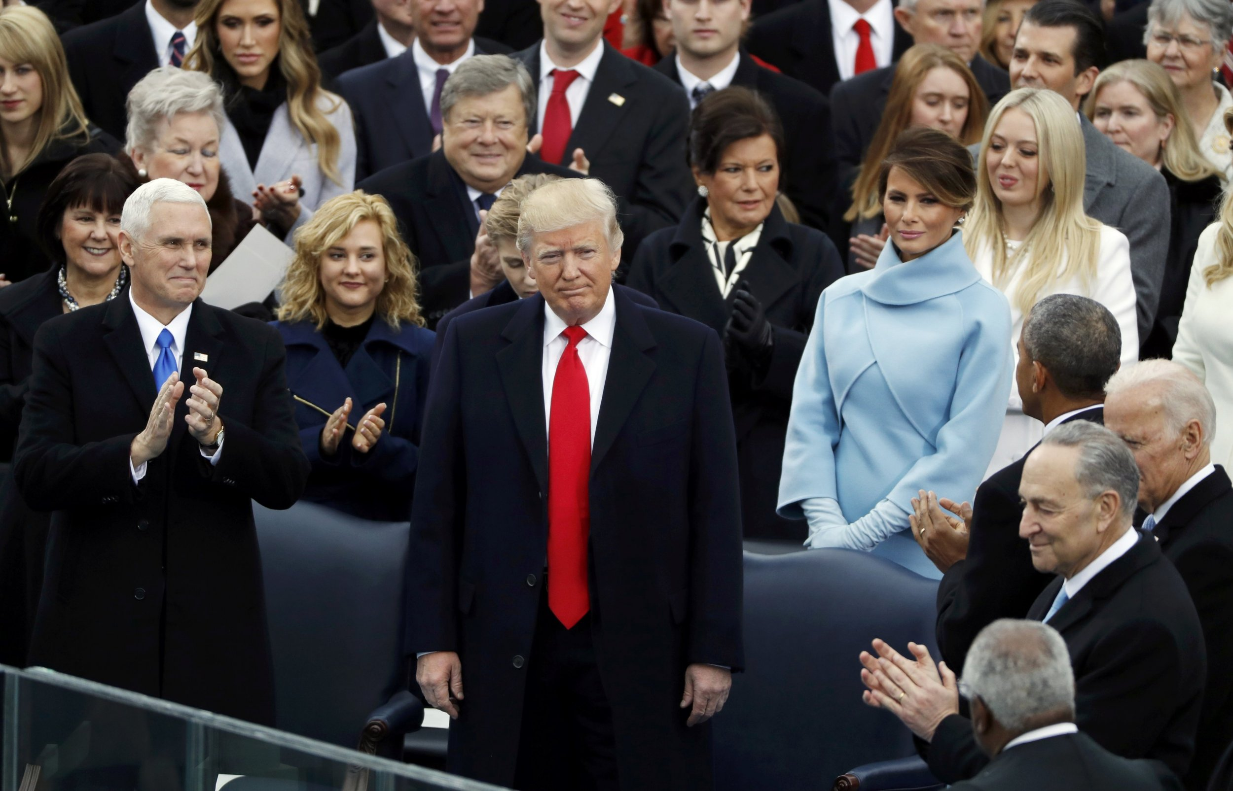 Image result for trump inauguration speech