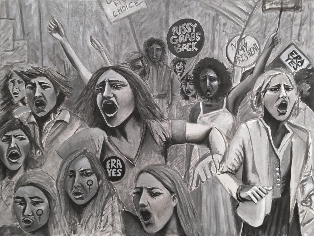 """1-20-17 Indira Cesarine """"Protest"""