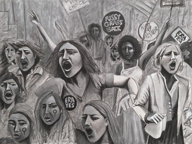 """1-20-17 Indira Cesarine """"Protest"""""""