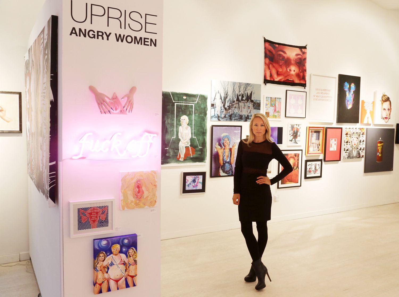 "1-20-17 Indira Cesarine ""Uprise:Angry Women"