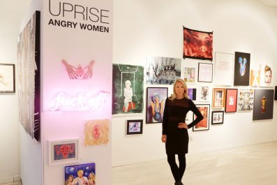 "1-20-17 Indira Cesarine ""Uprise:Angry Women"""
