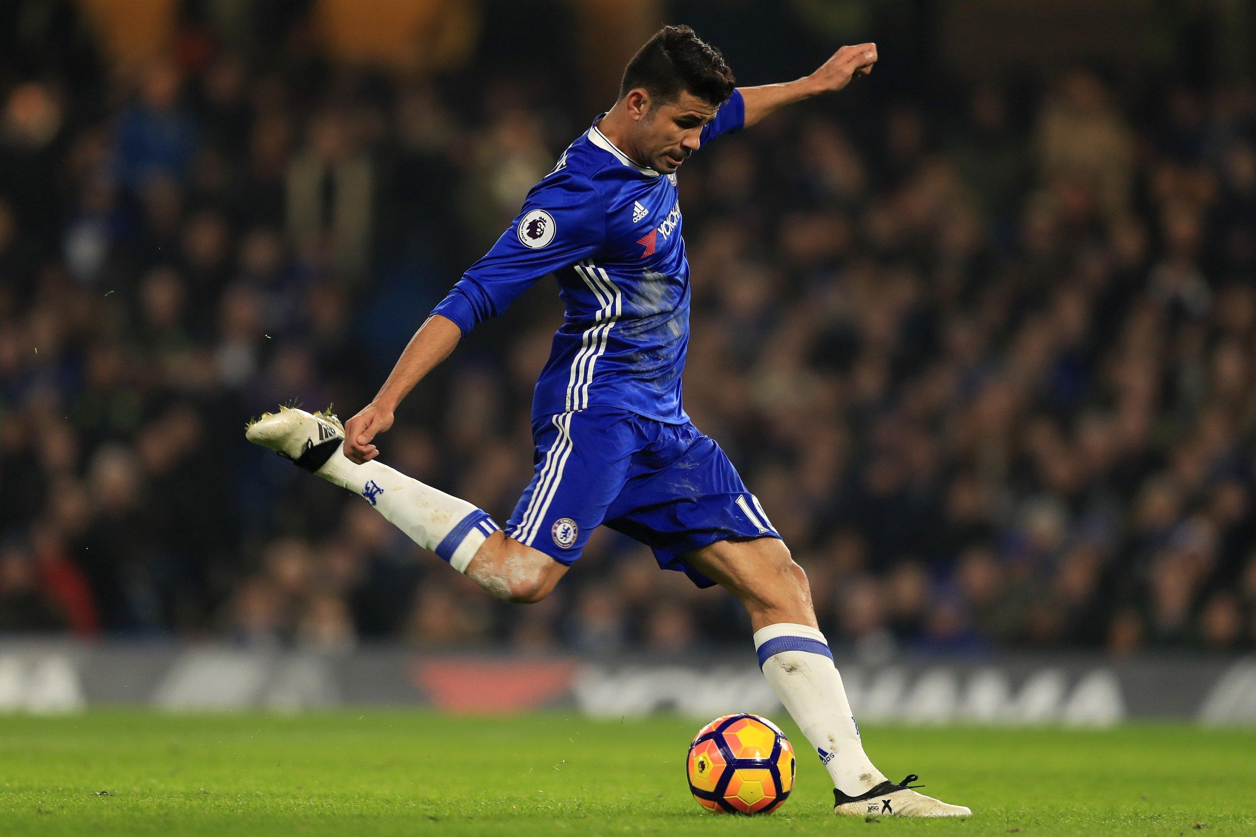 Chelsea striker Diego Costa.