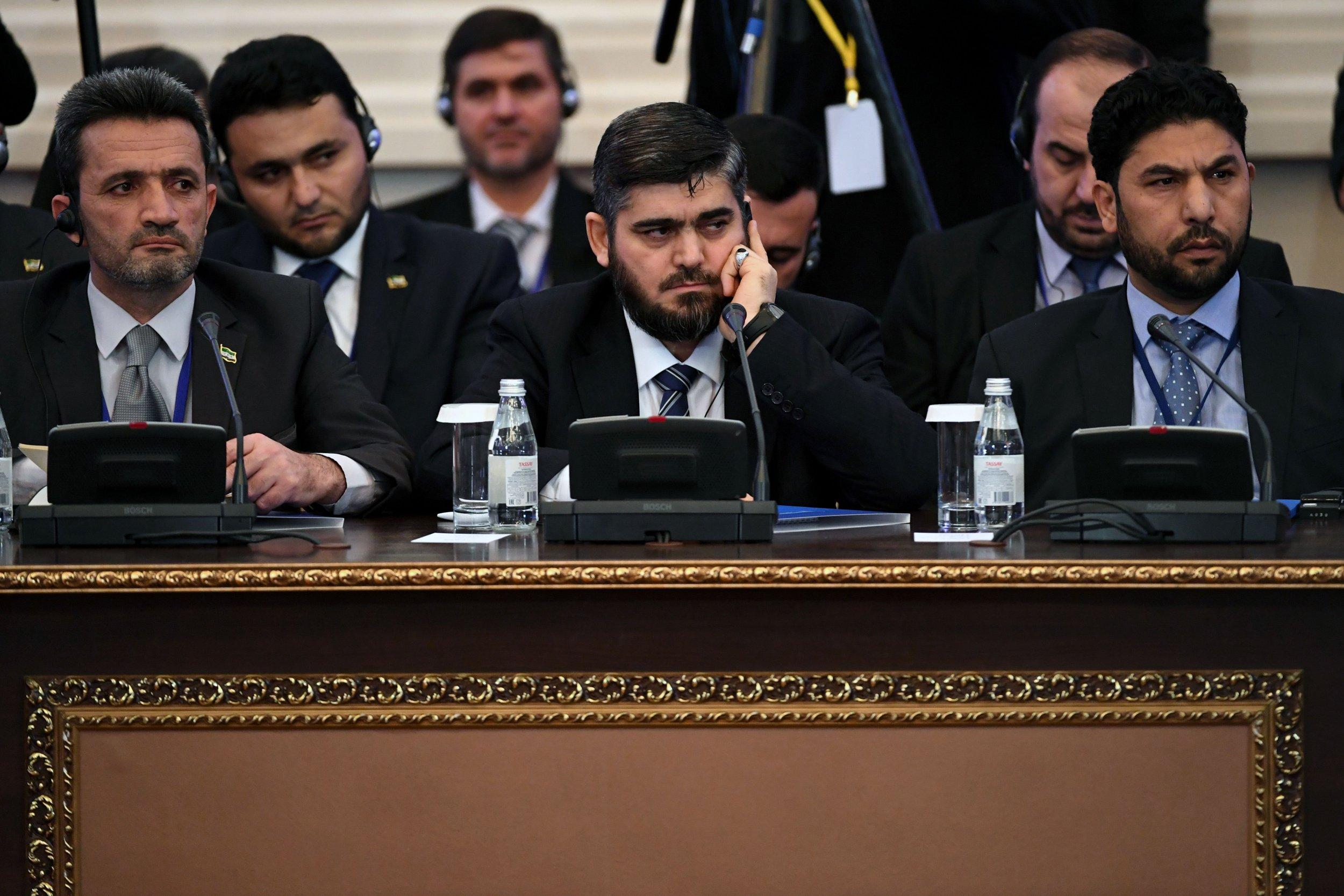 Chief Syrian opposition negotiator