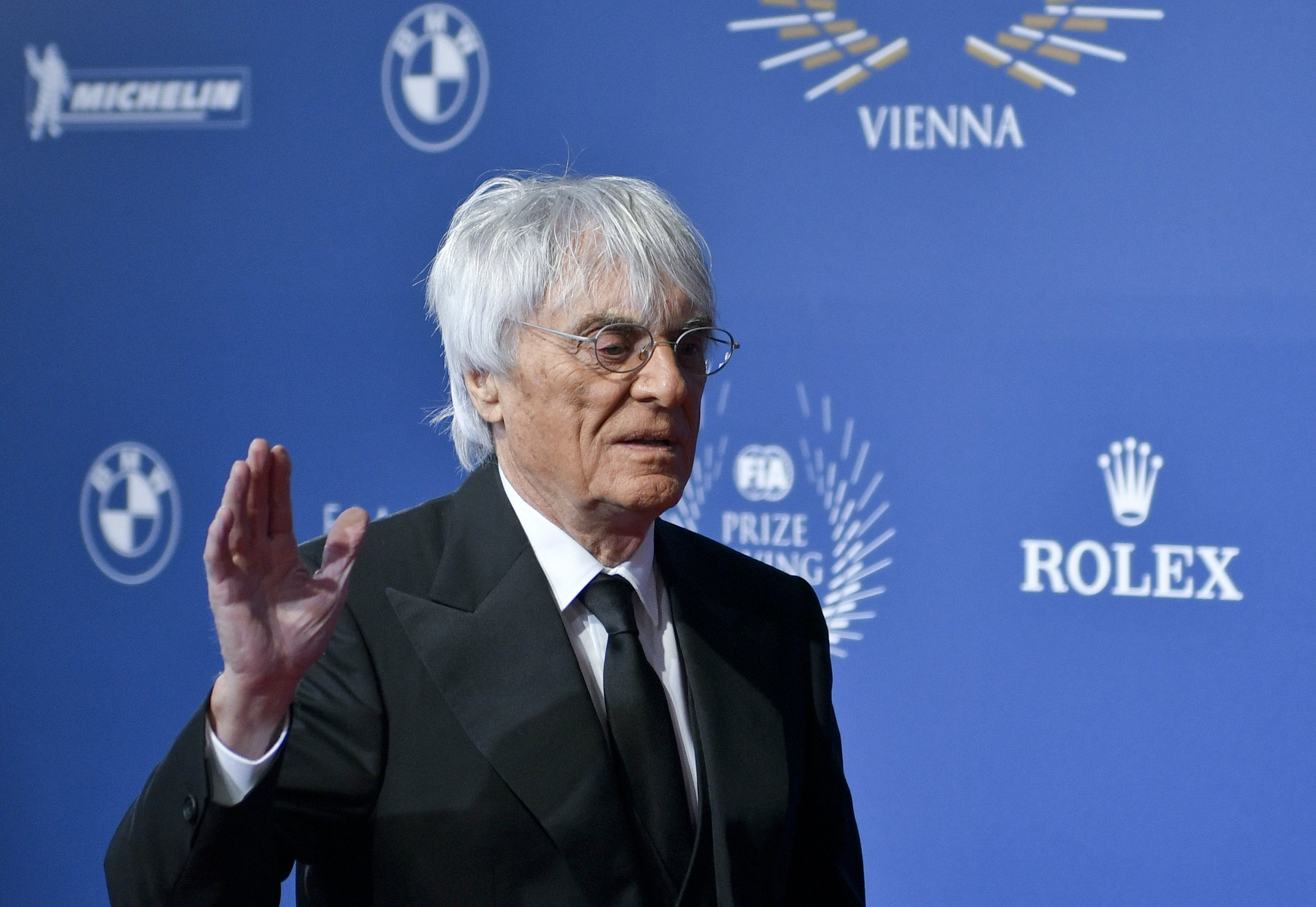 Former F1 chief executive Bernie Ecclestone.