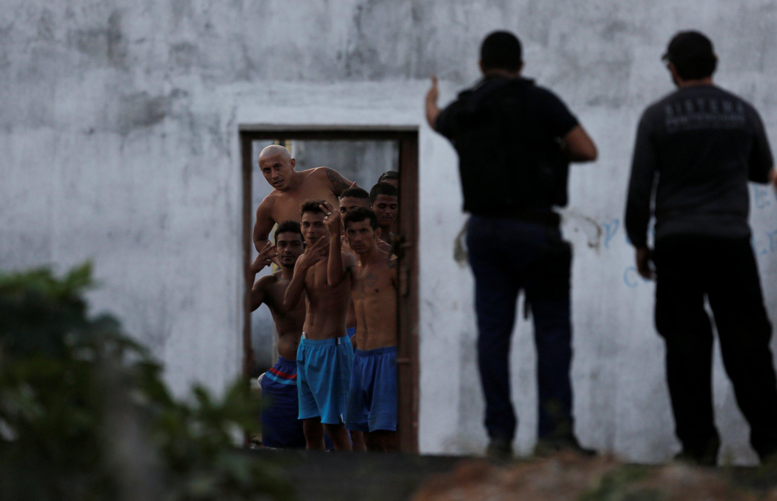 Prison Riot Delivery