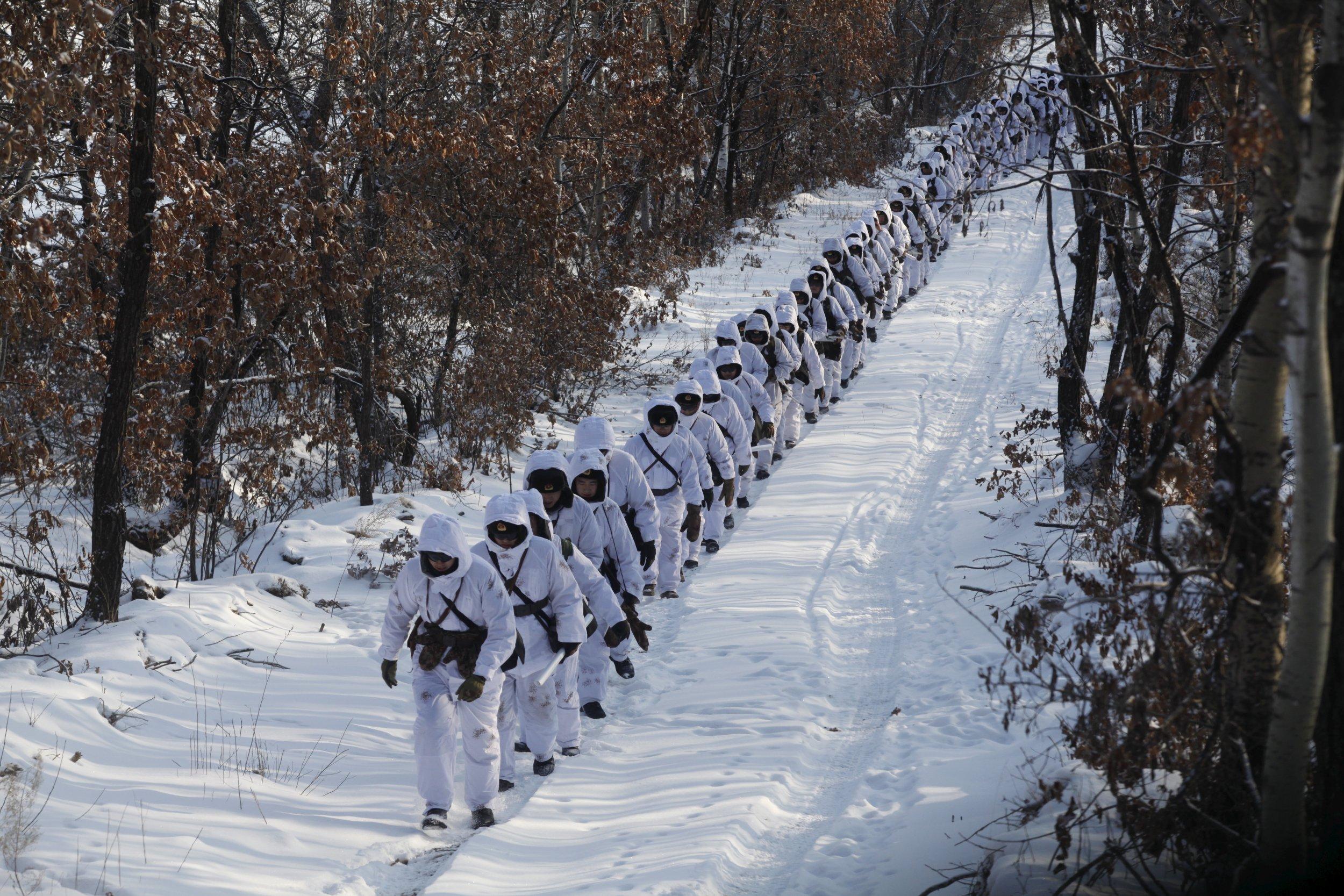 Heilongjiang province military
