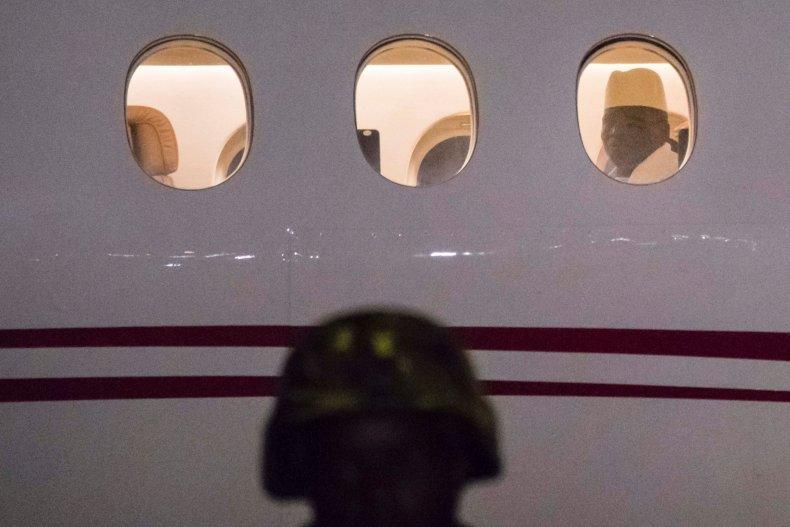 Yahya Jammeh plane