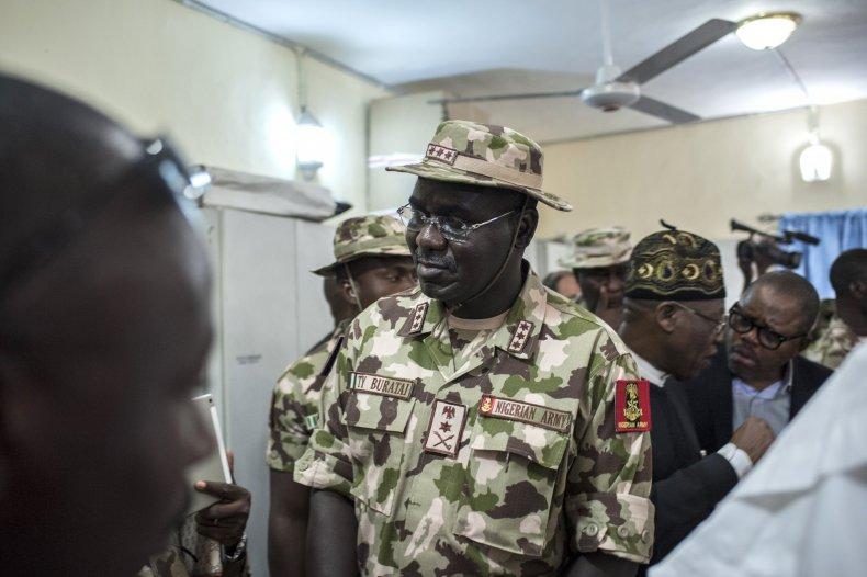 Nigerian chief of army staff