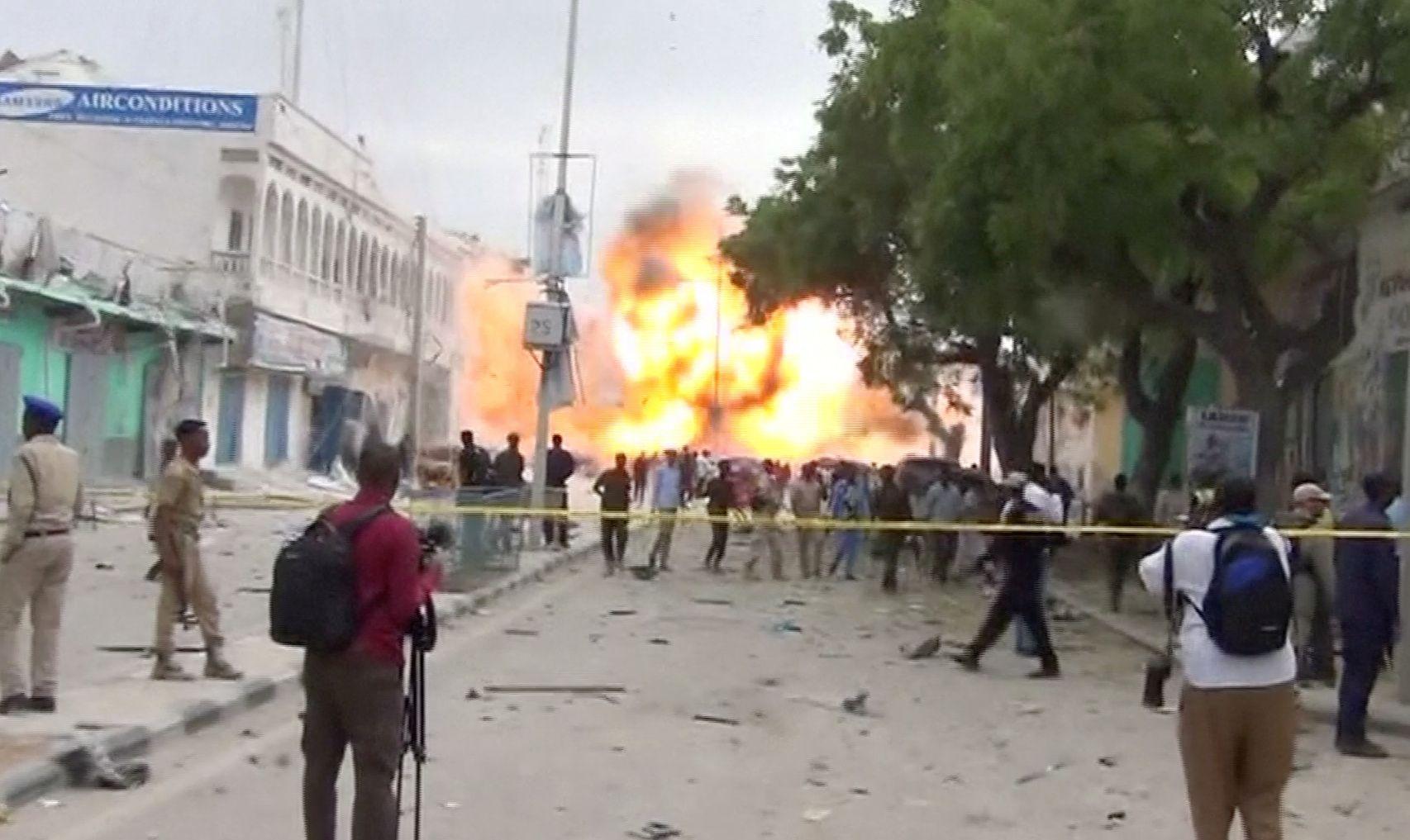 Mogadishu hotel bombing