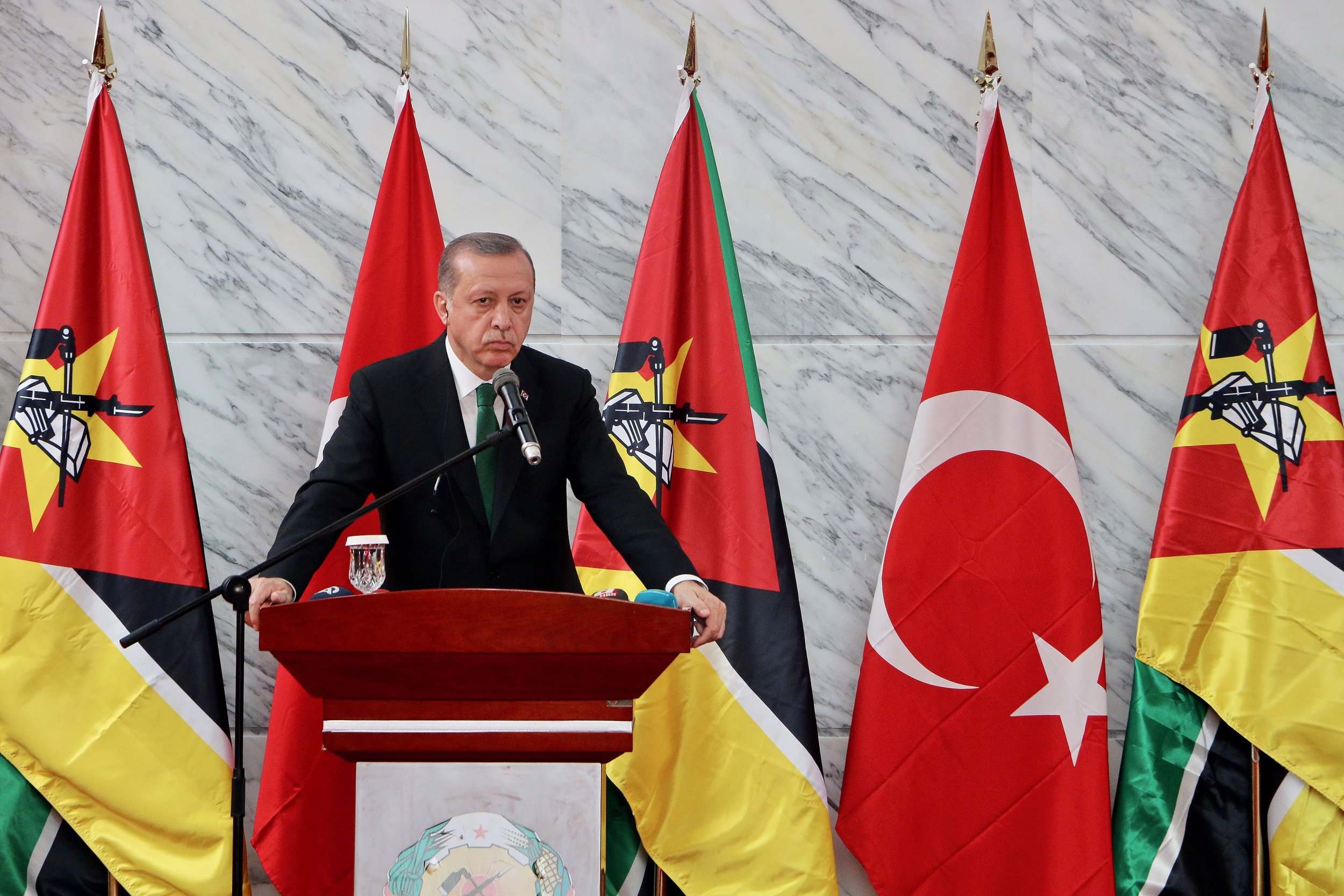 Erdogan Mozambique