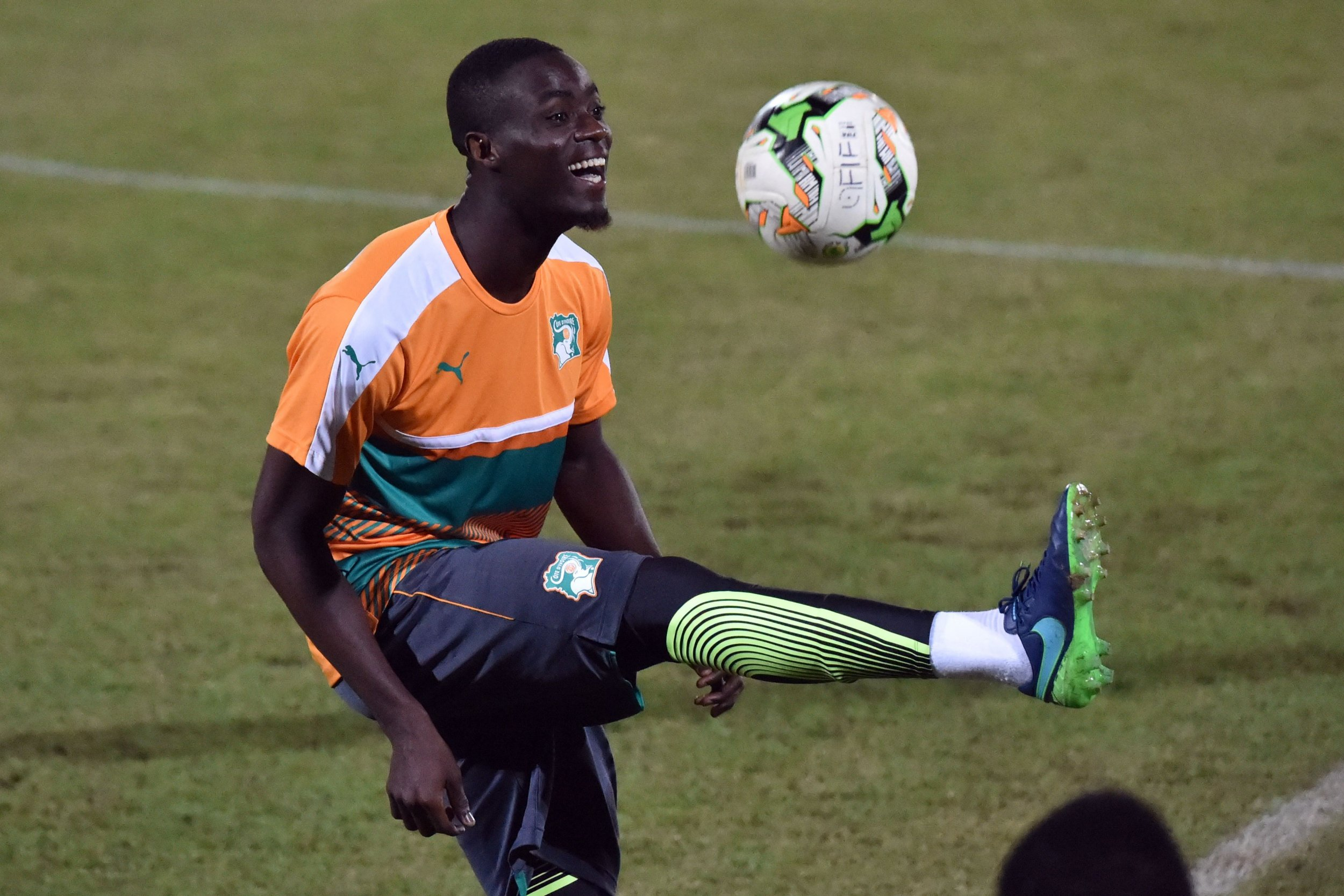 Manchester United and Ivory Coast defender Eric Bailly.
