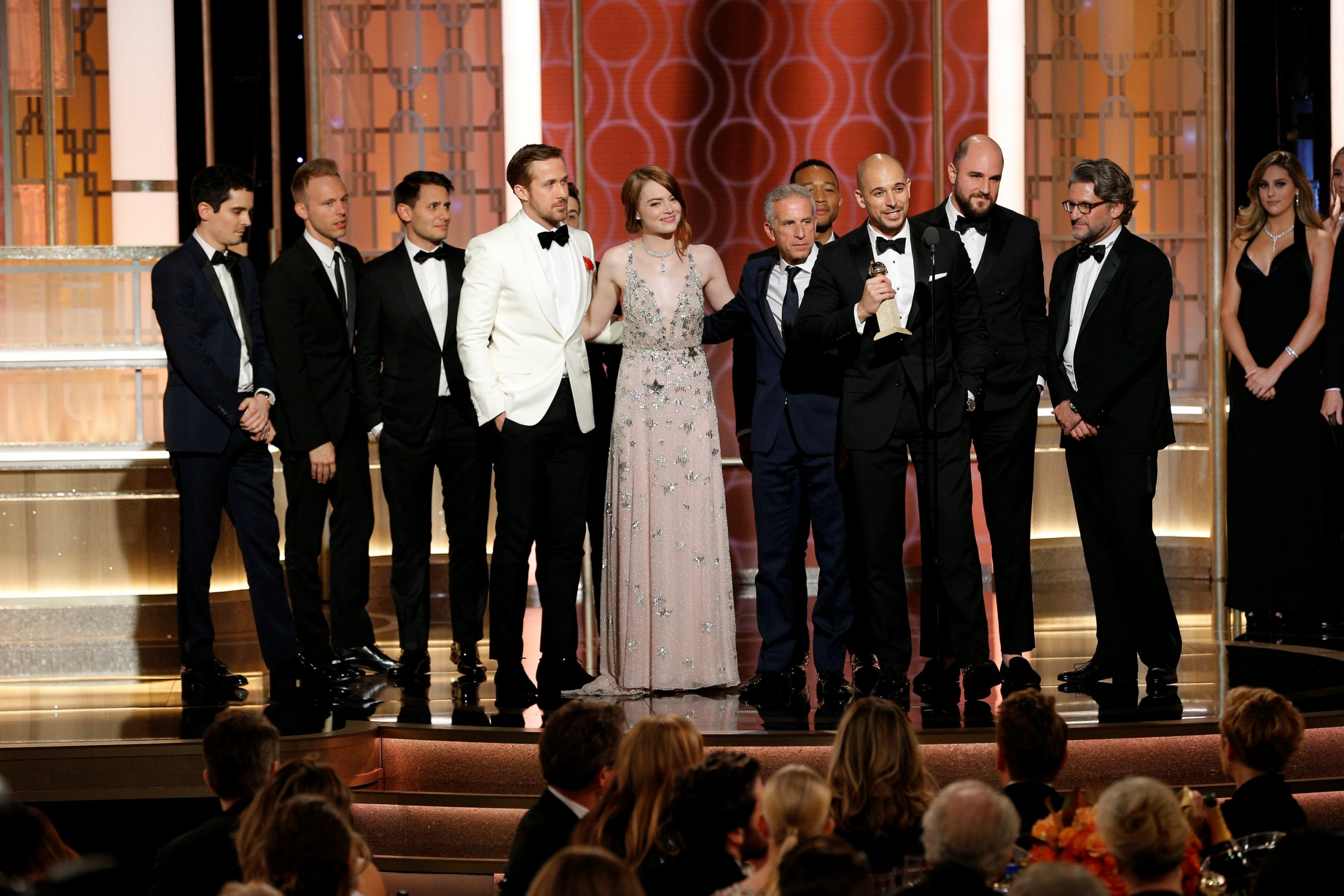La La Land Golden Globes 2017