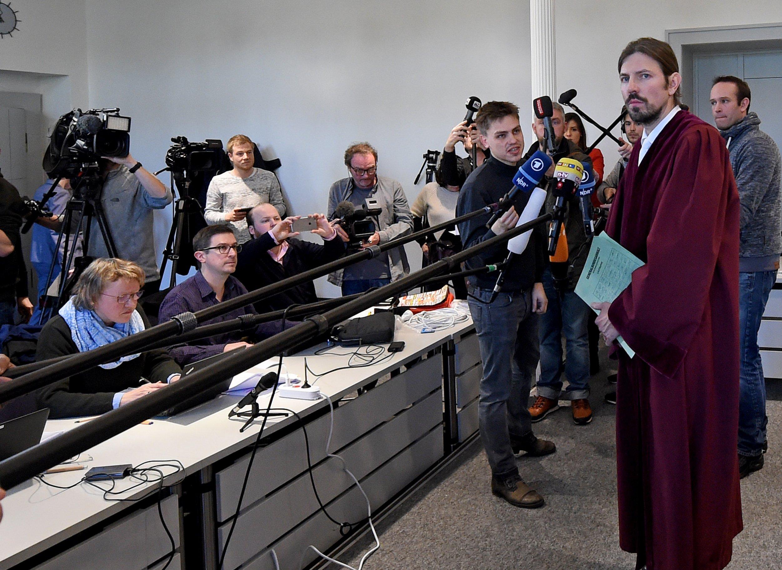 German trial