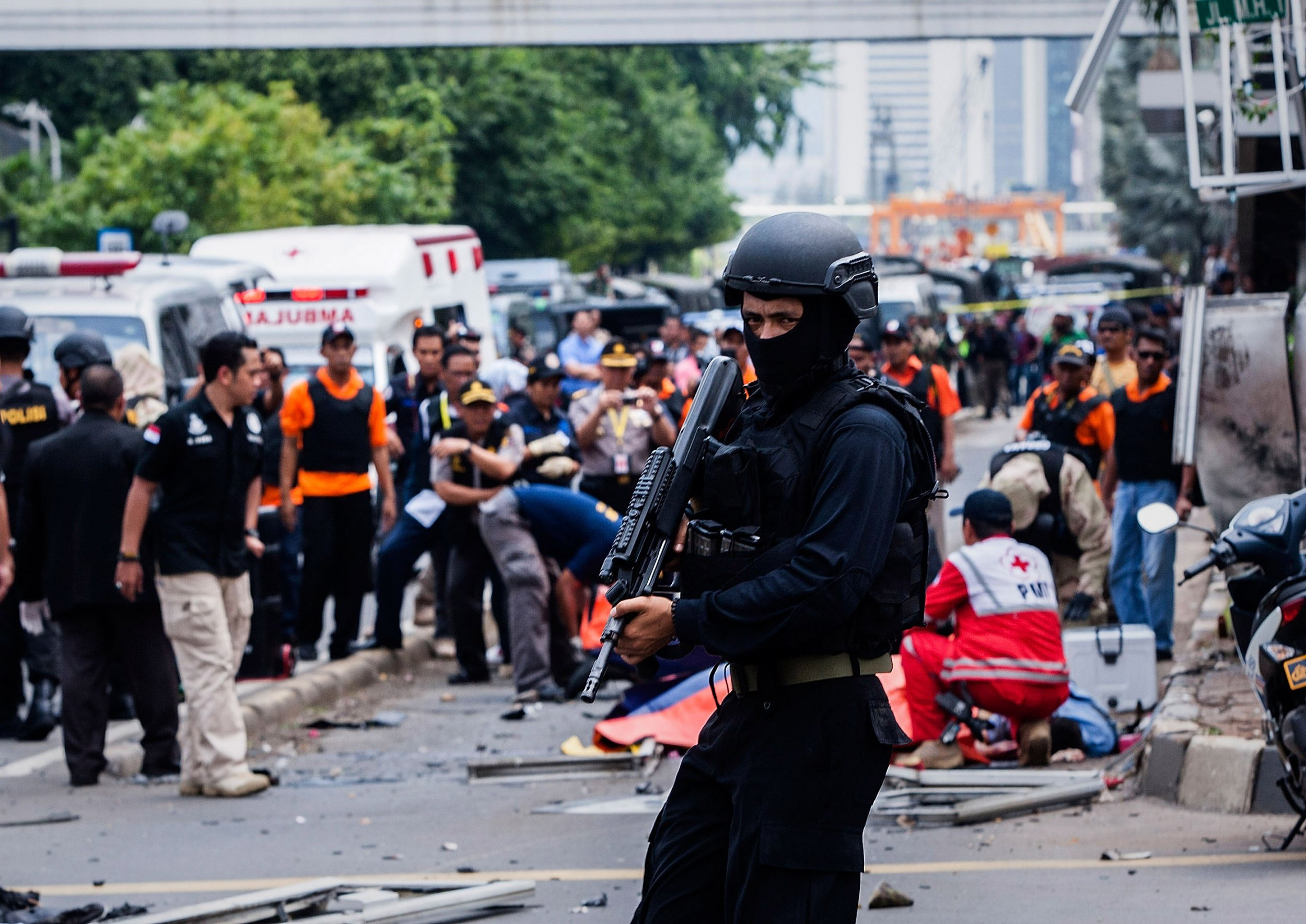 Indonesia police