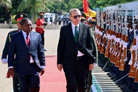 Erdogan Mozambique visit