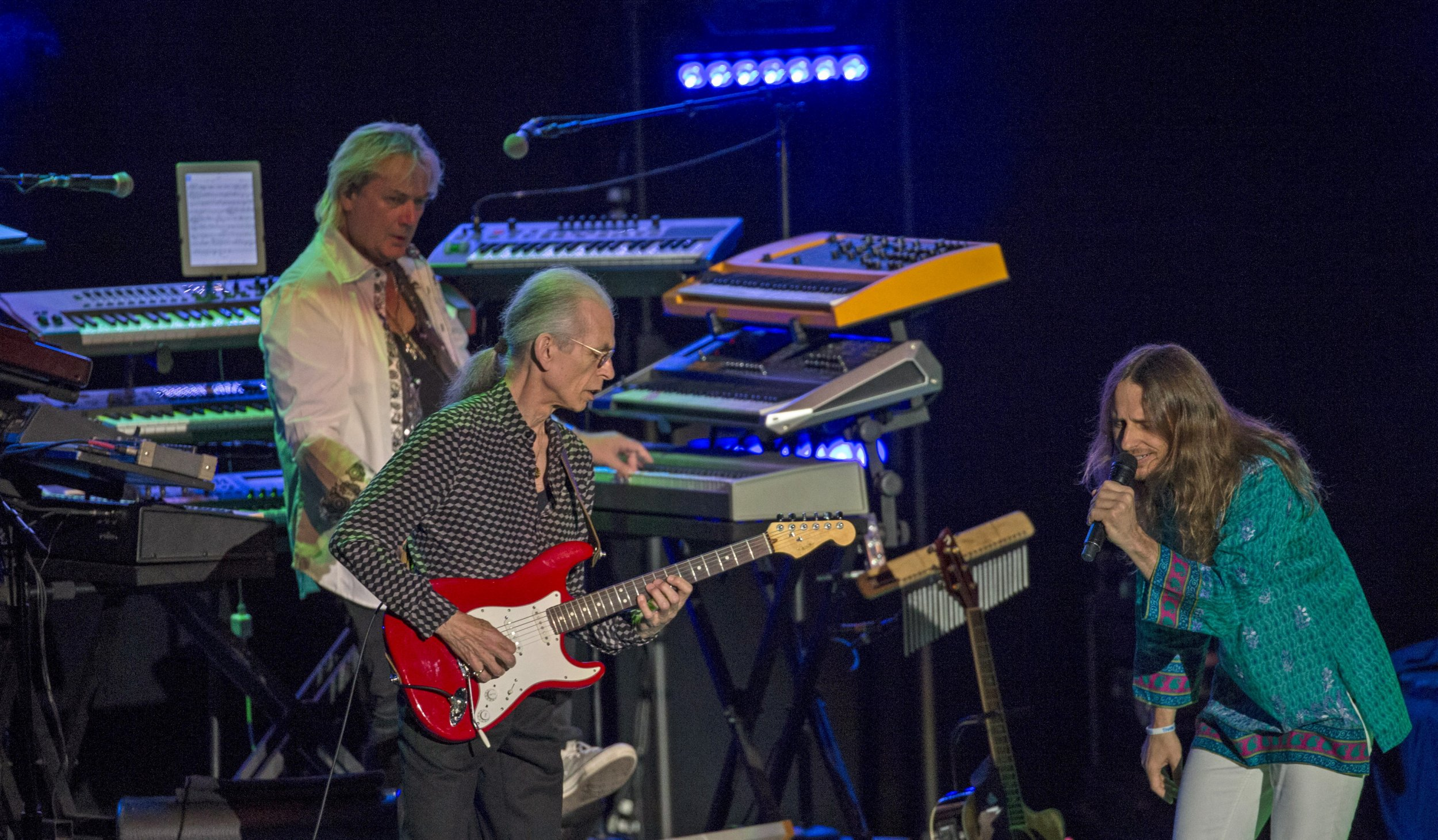 steve howe onstage