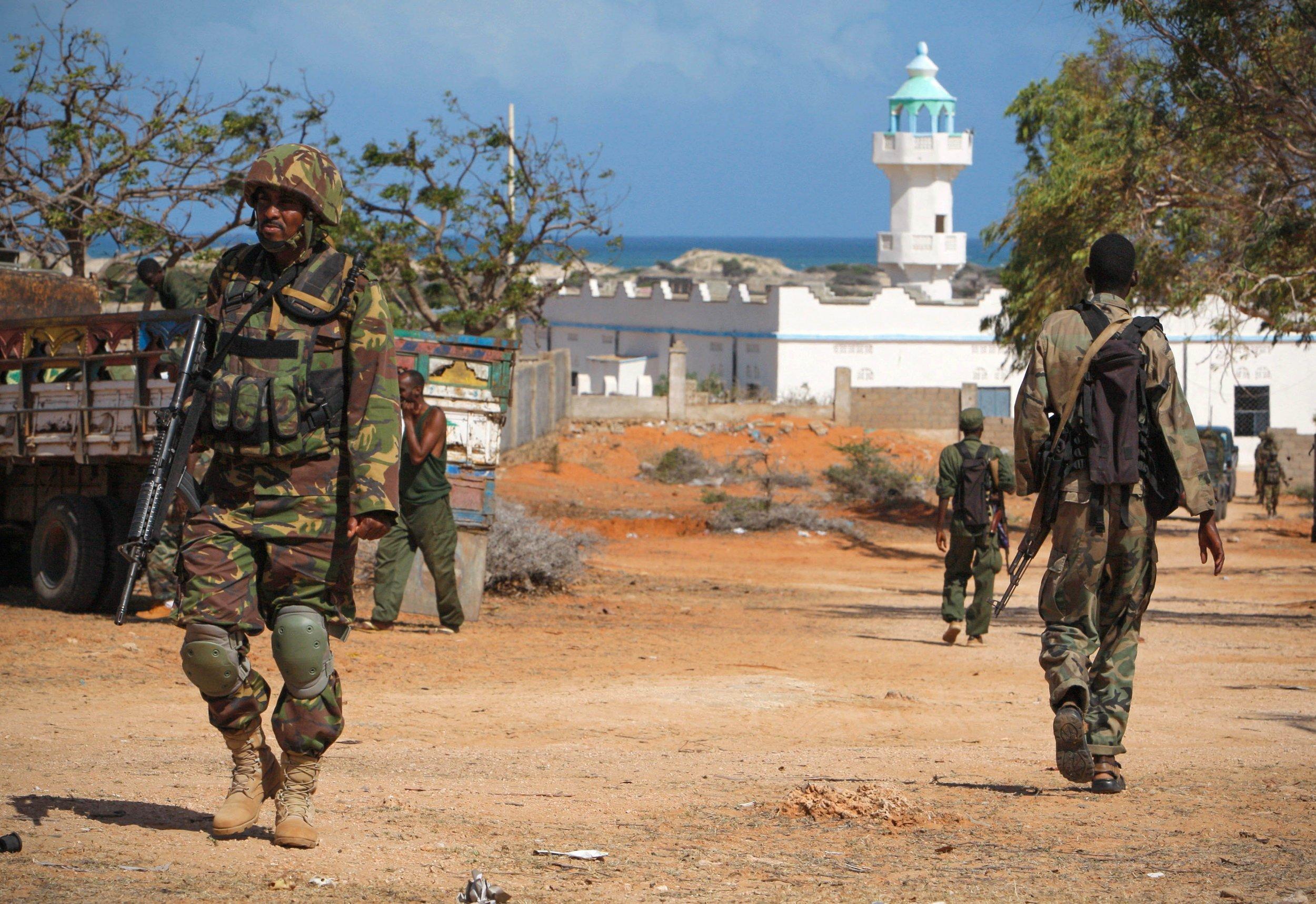 Kenya troops Somalia