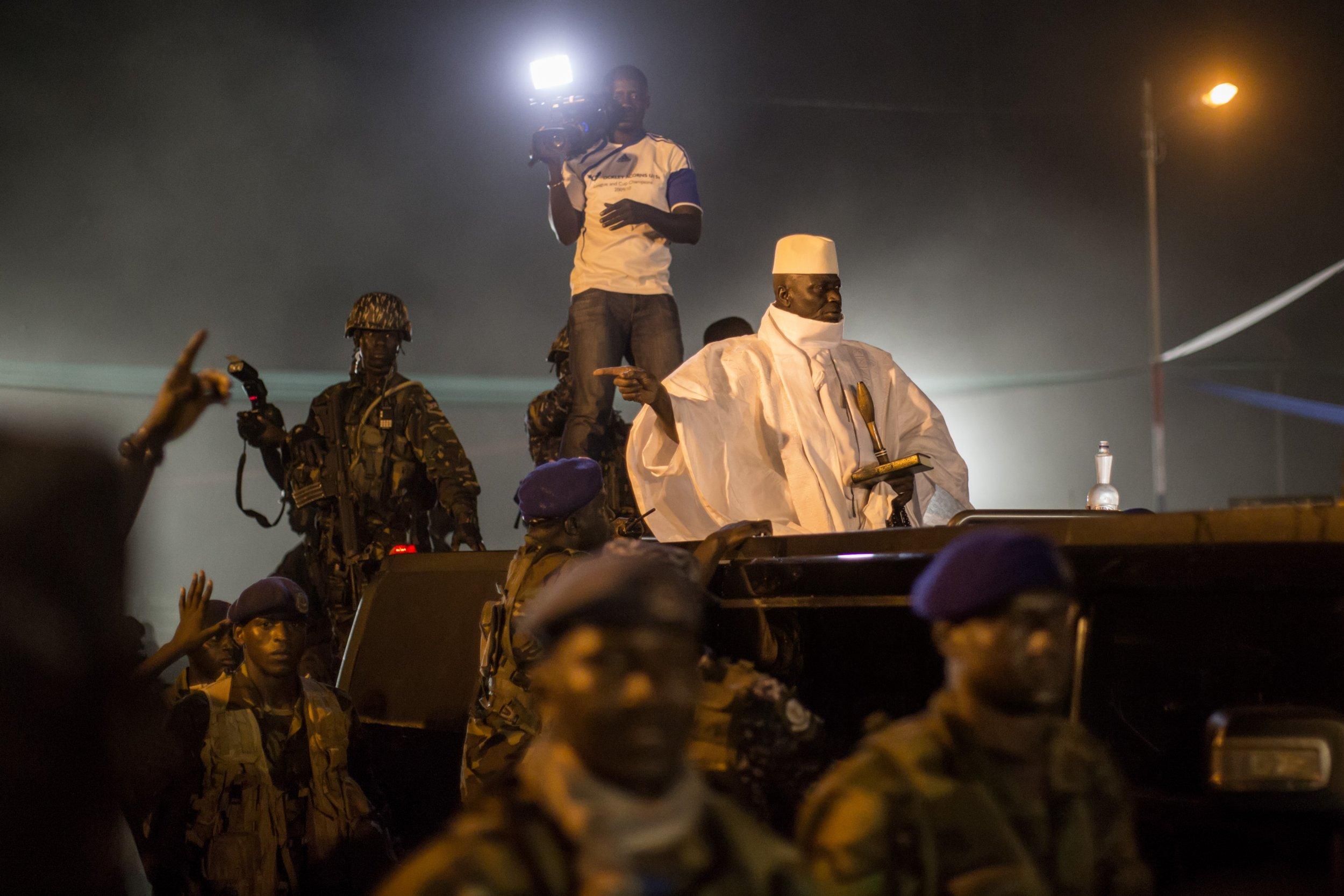 Yahya Jammeh campaign