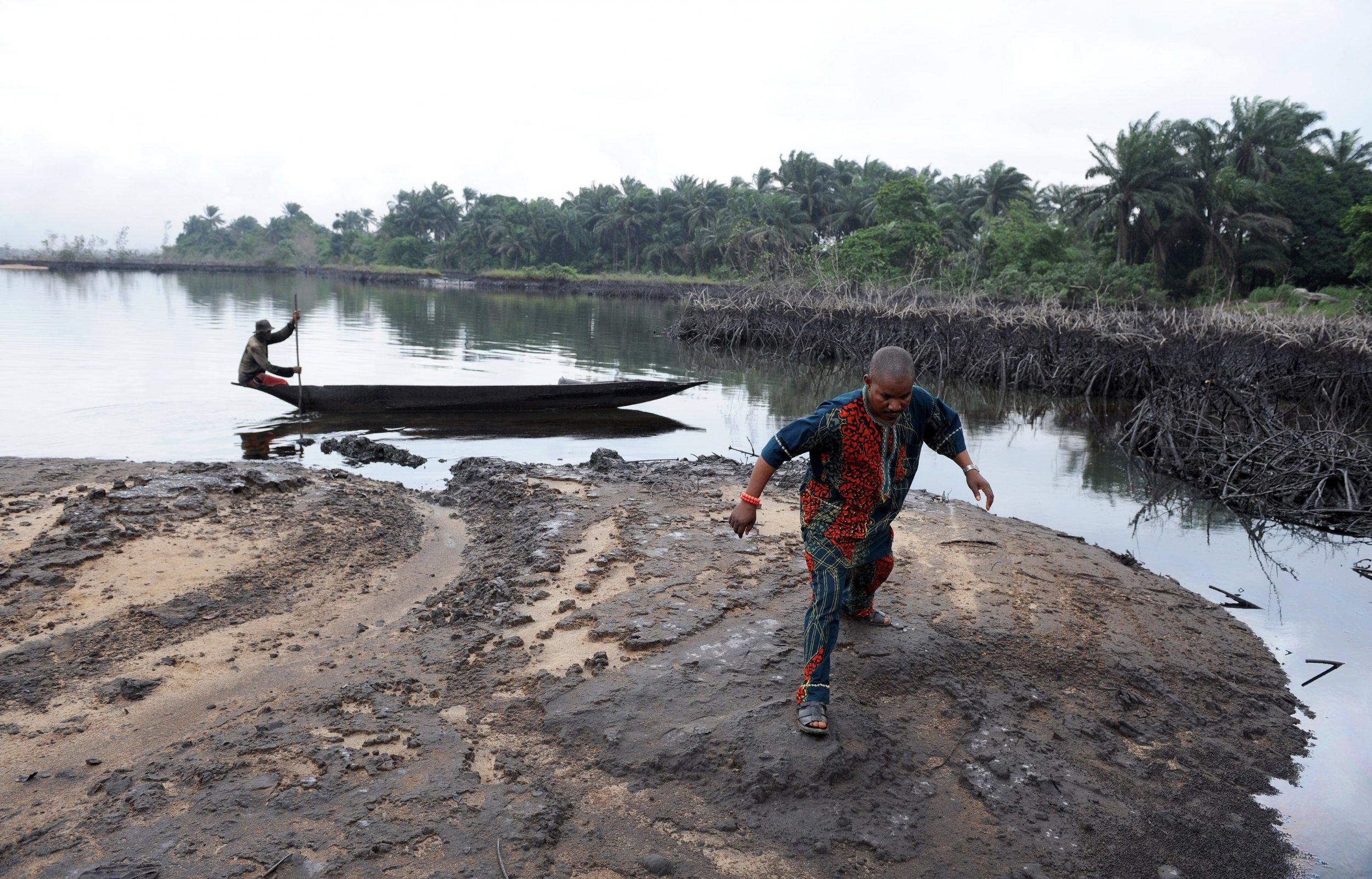 Ogoniland oil spill