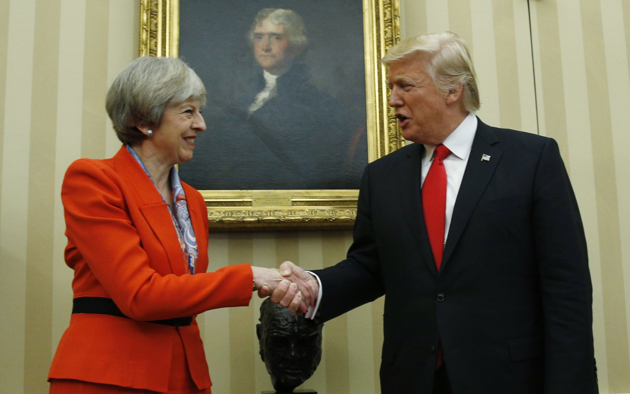 May Trump meeting