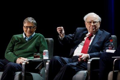 Bill Gates Warren Buffett