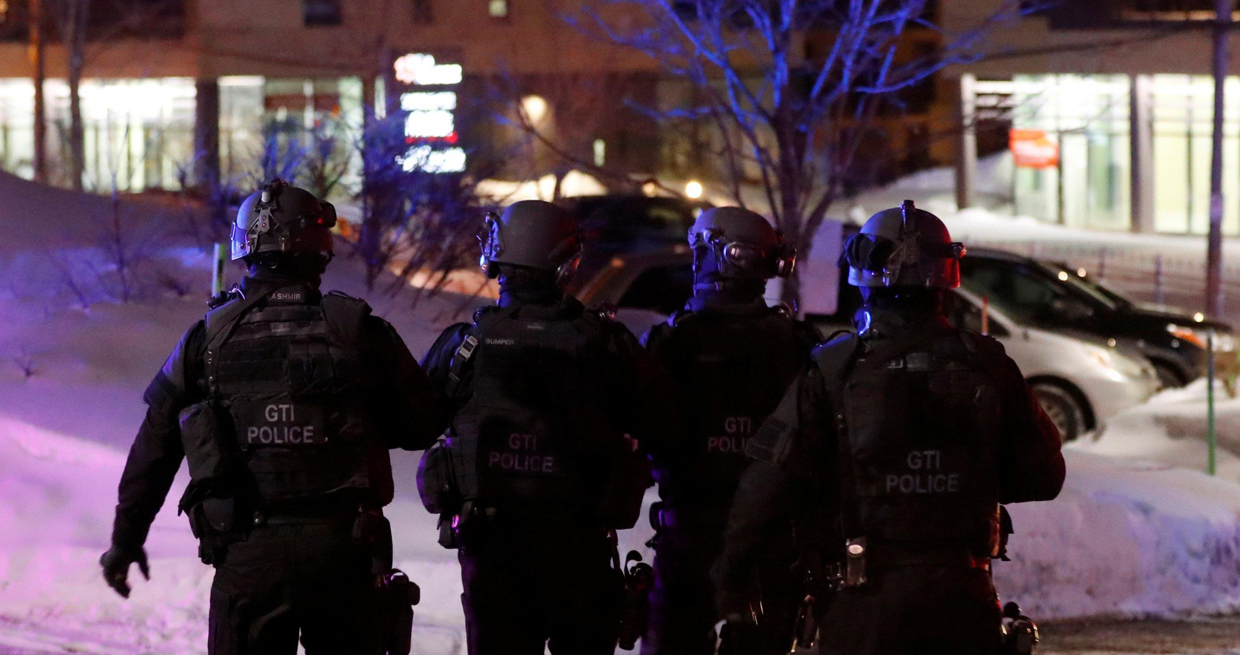 Mosque Shooting Picture: Canadian PM Justin Trudeau Calls Quebec City Mosque