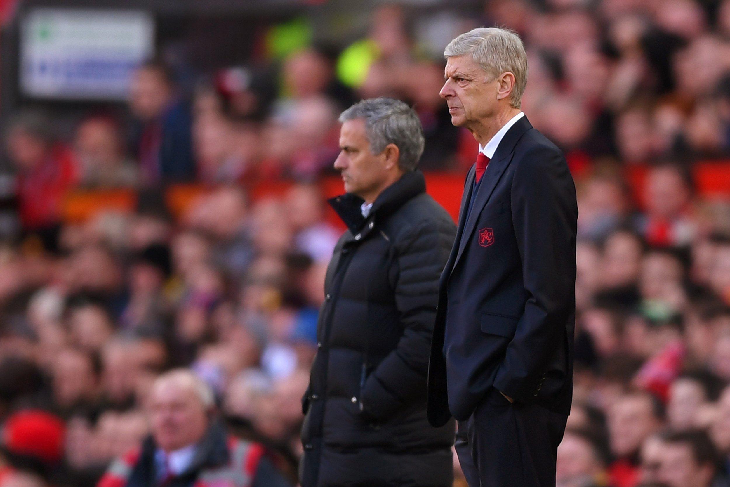 Mourinho and Wenger