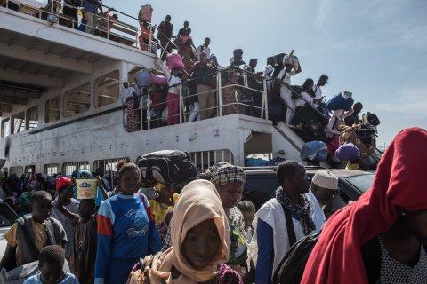 Gambia returnees