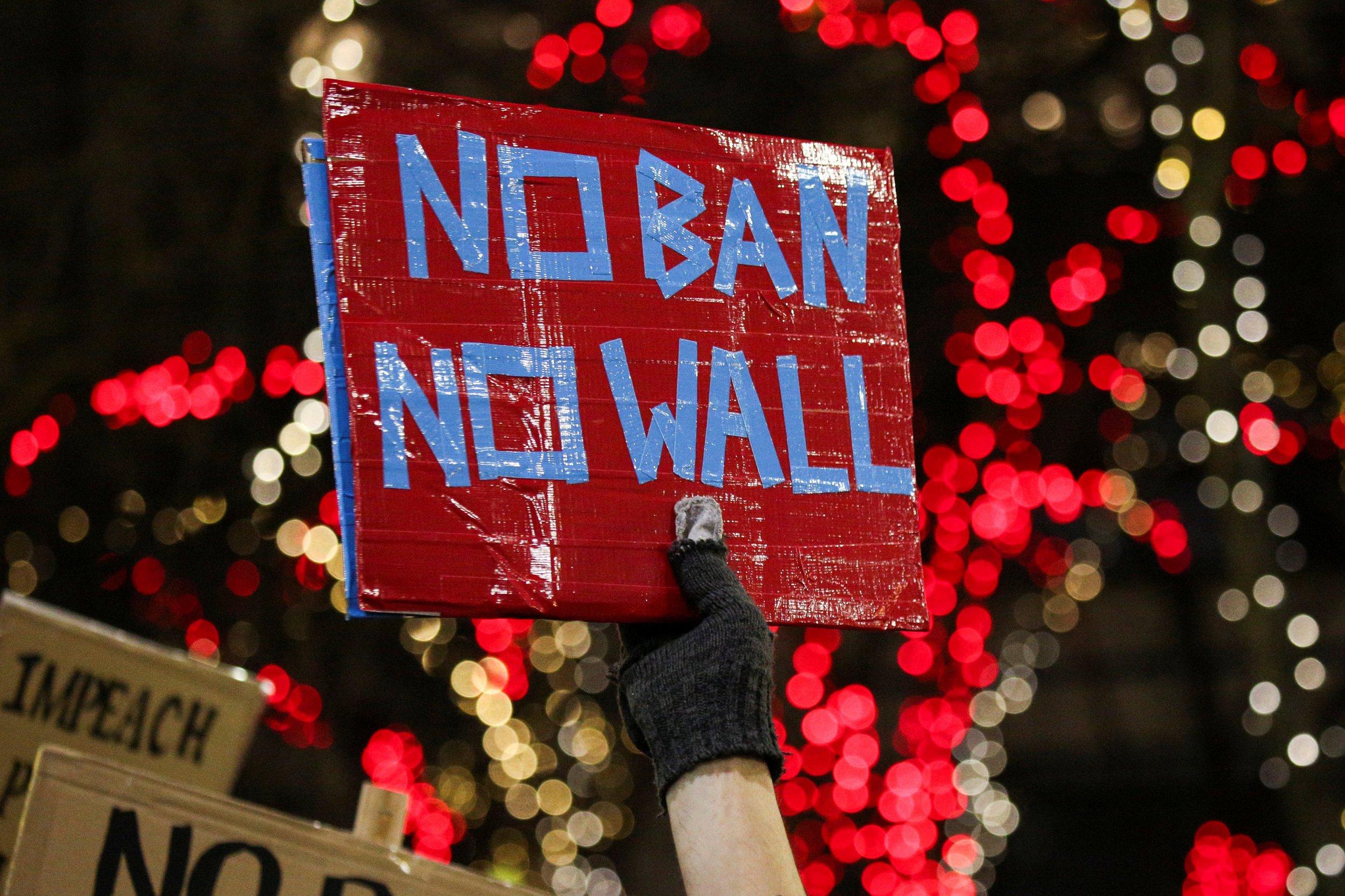 """1-30-17 """"No Ban No Wall"""""""