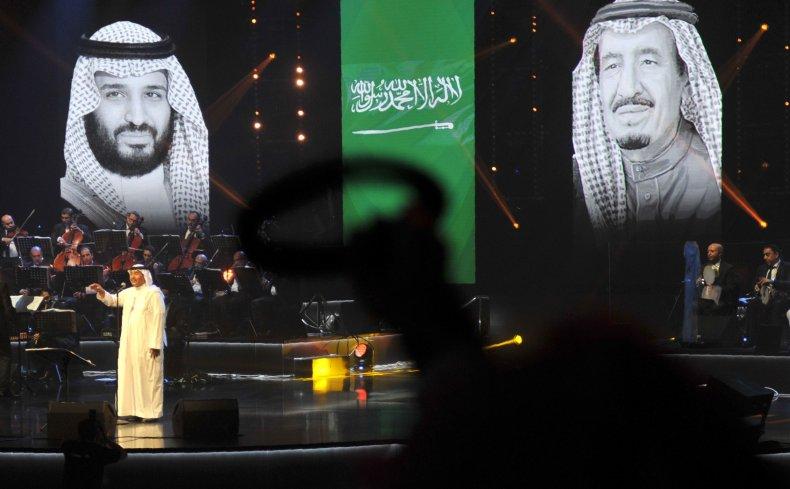 Saudi concert
