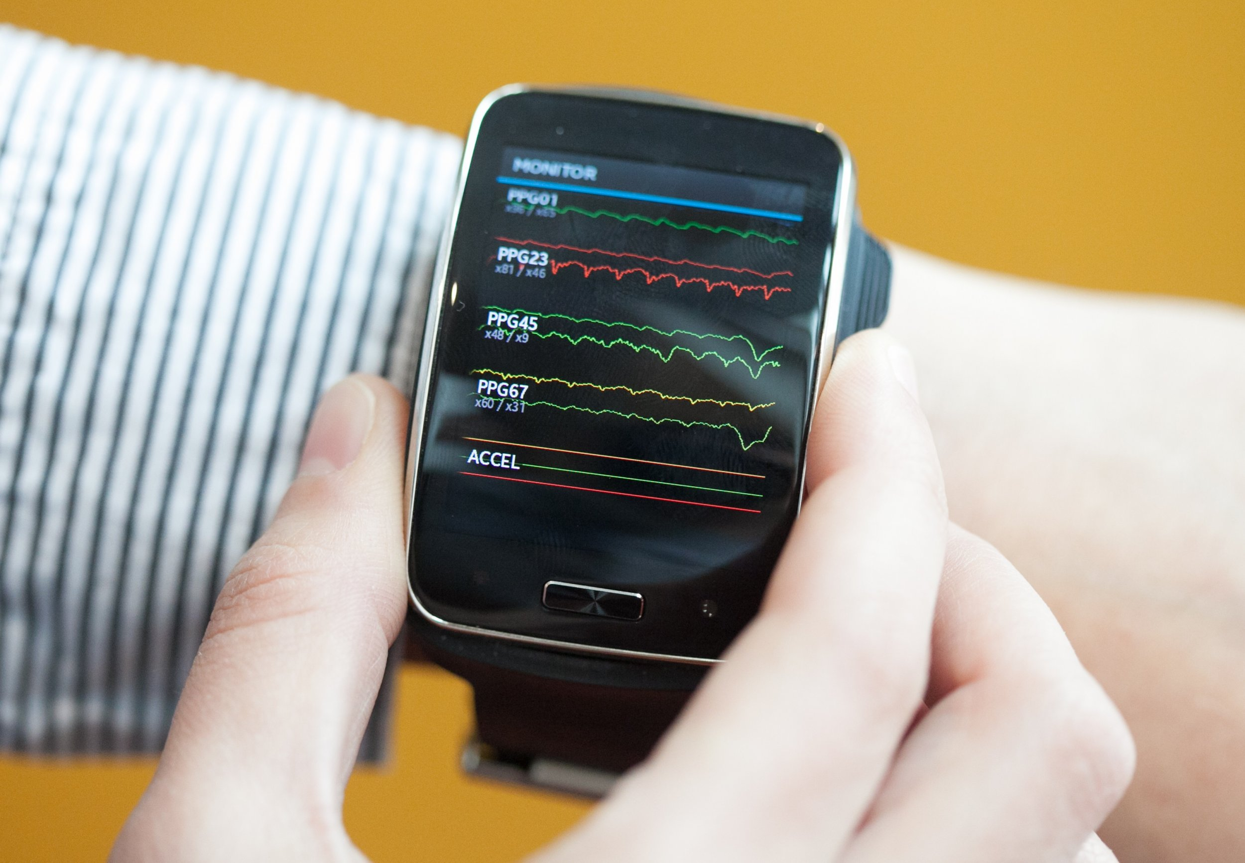 smartwatch mood wearable MIT social