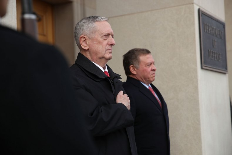 Mattis King Abdullah