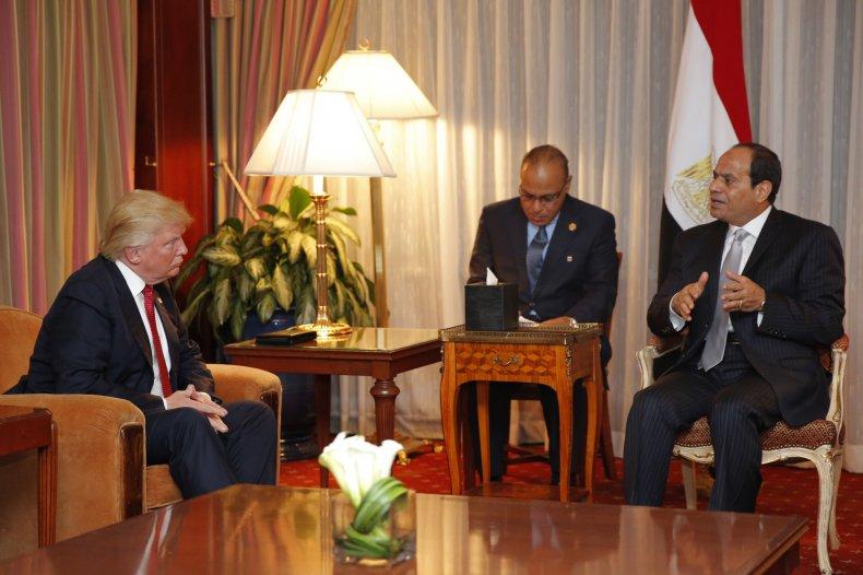 Trump Sisi