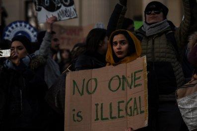 Trump travel protest ban