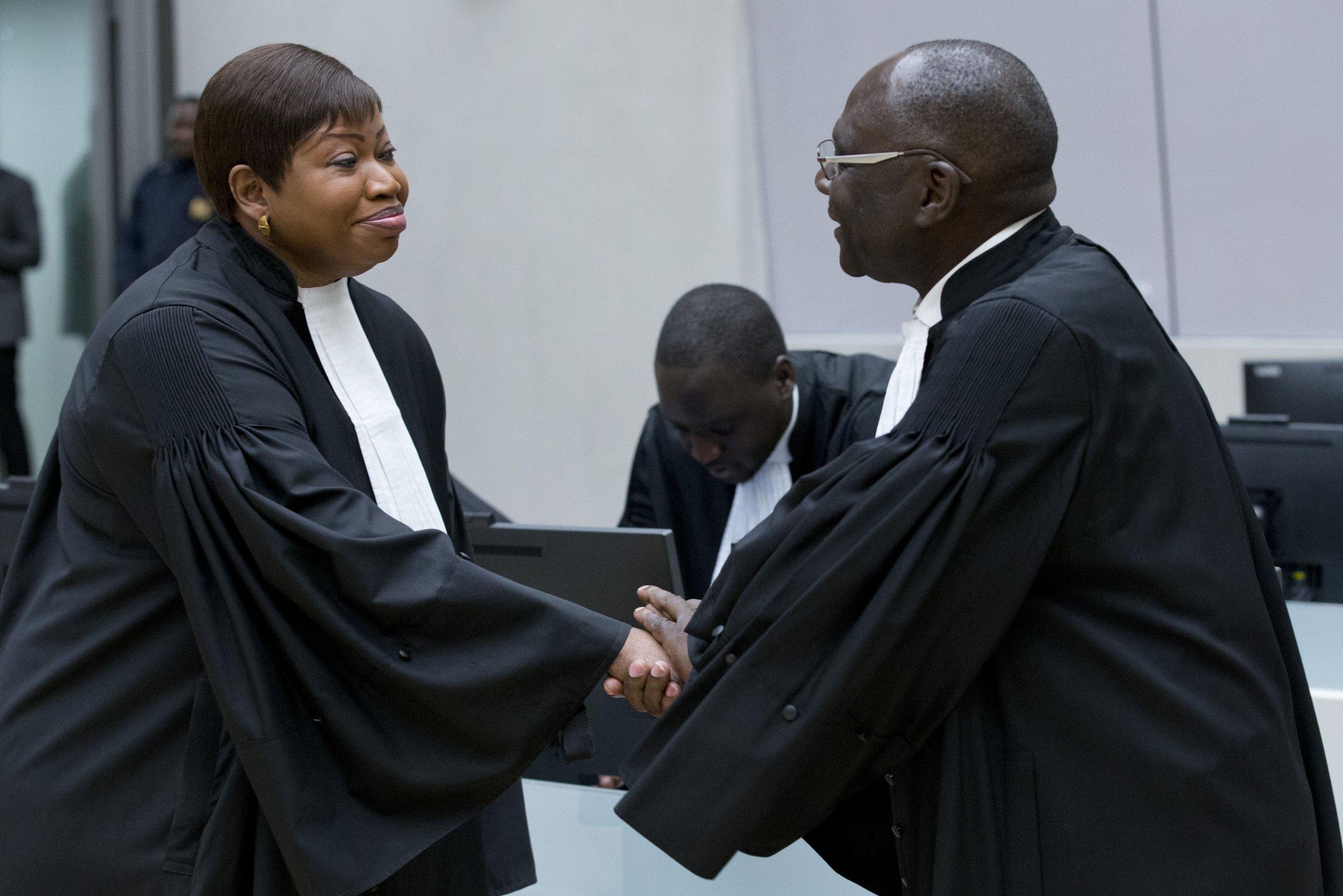 Fatou Bensouda and Ongwen defense