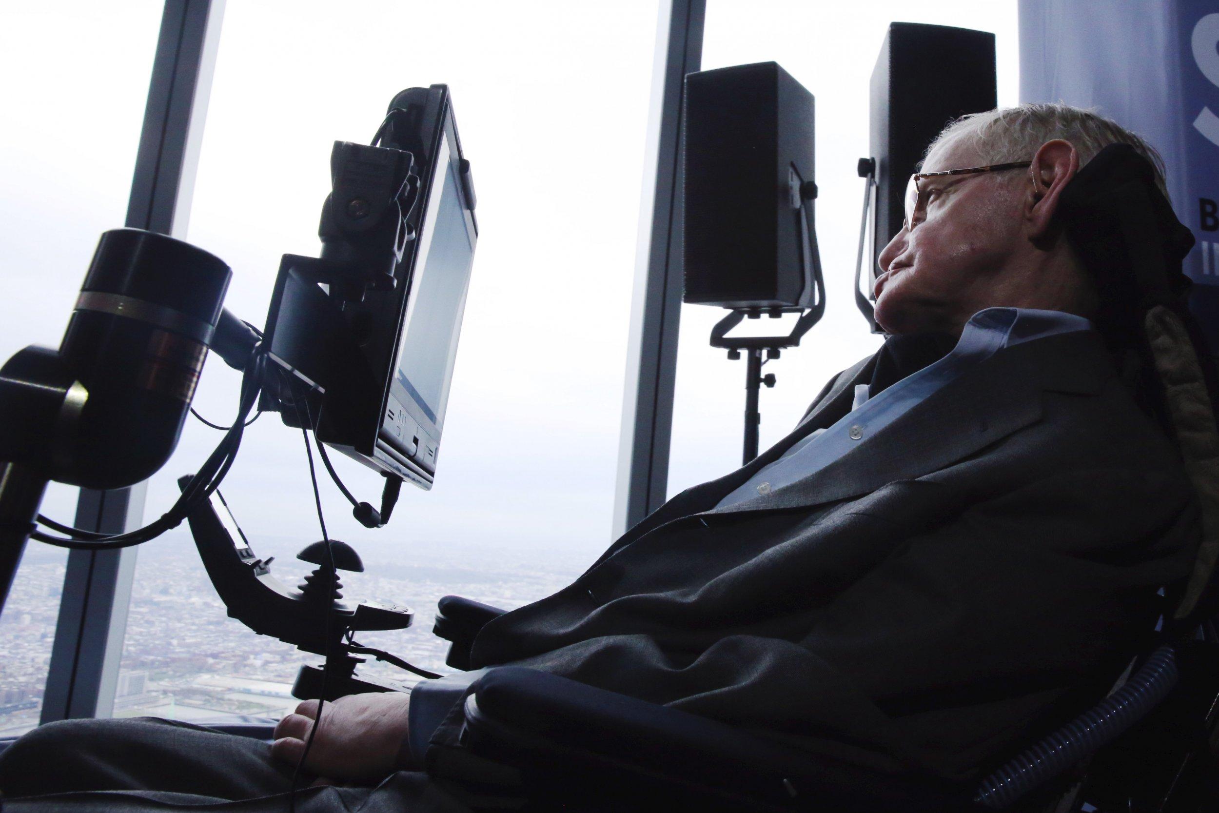 Stephen Hawking 2016