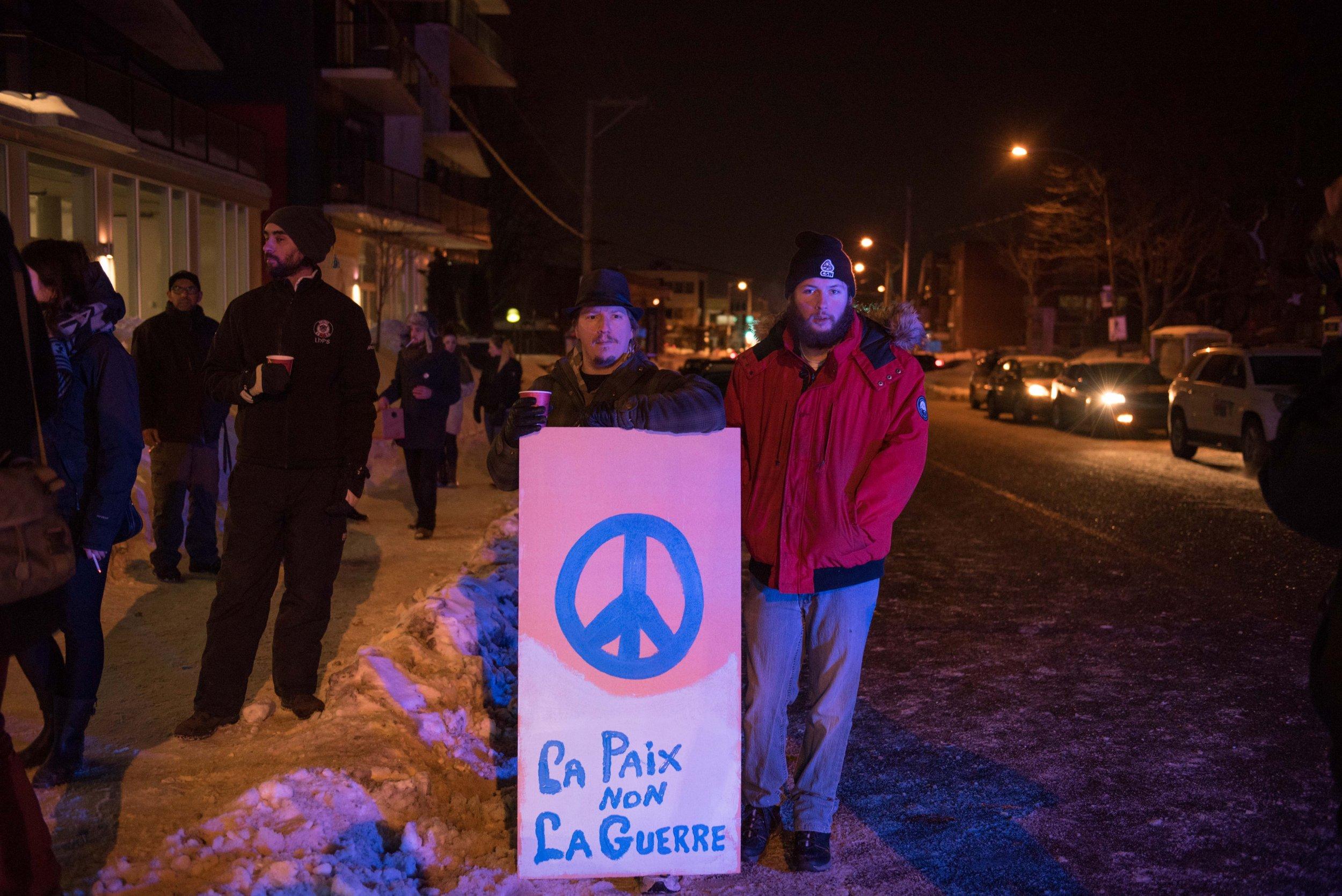 Quebec mosque shooting vigil
