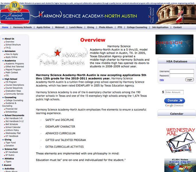 harmony science academy austin