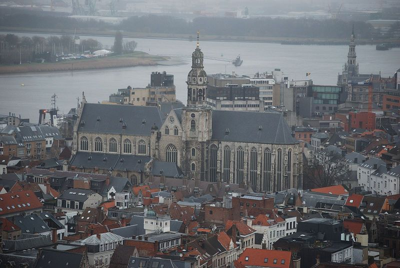 Church of St Paul in Antwerp, Belgium