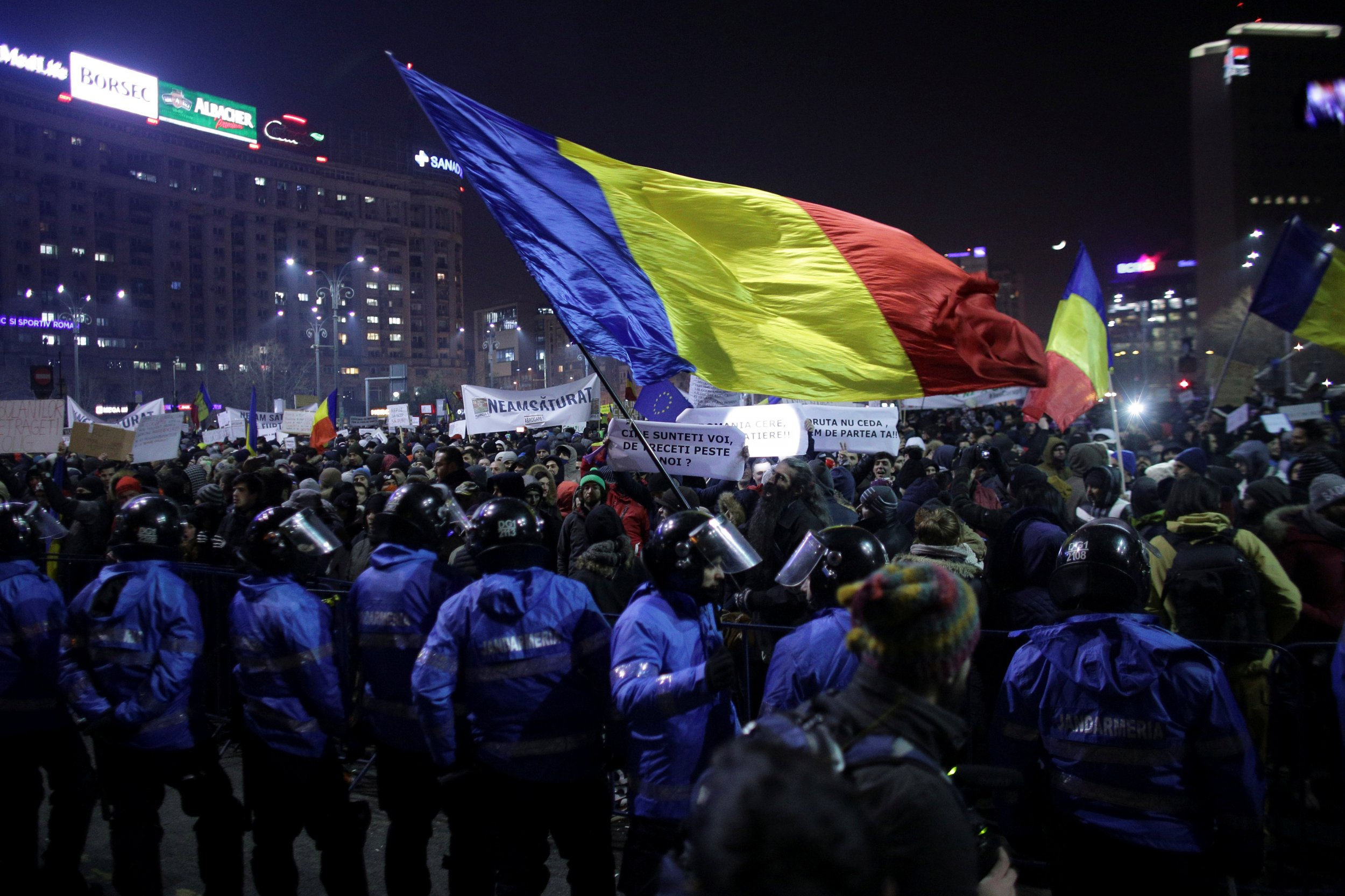 Bucharest protests