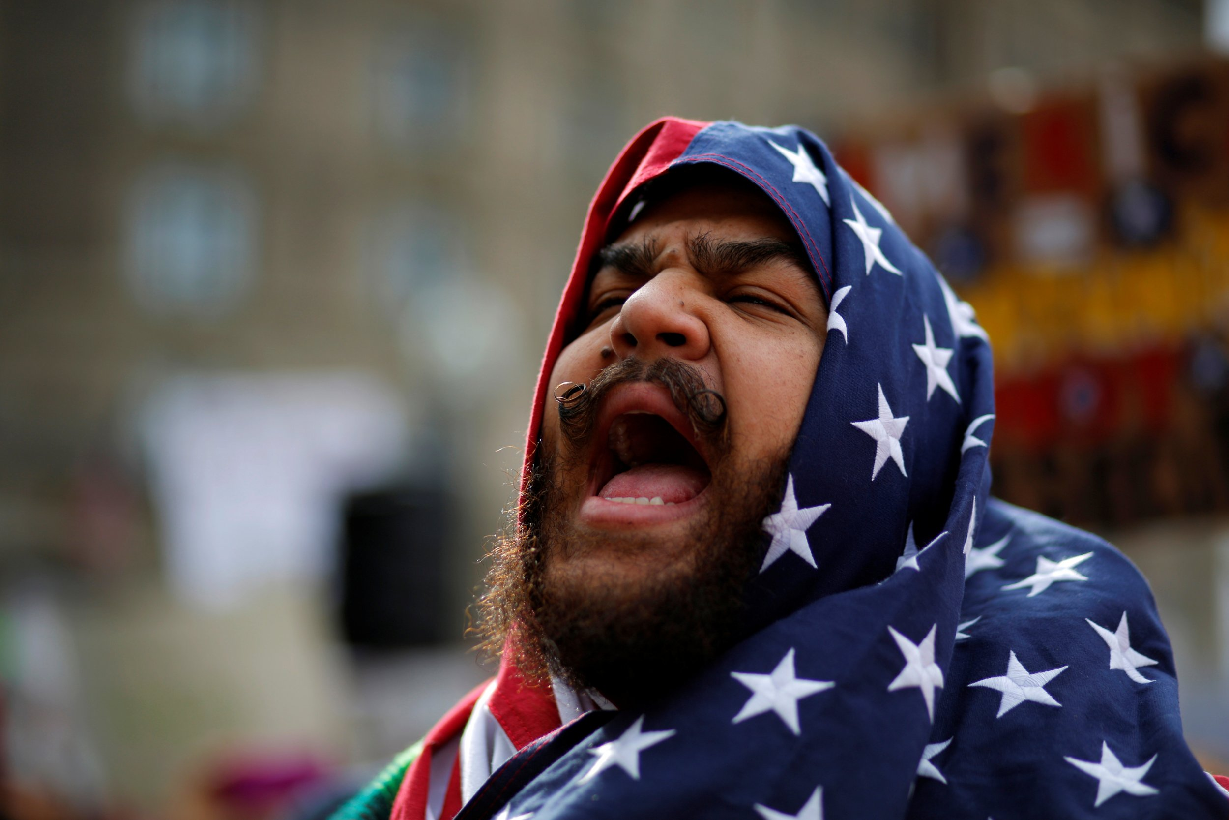 Boston Protest Against Muslim Ban 2017