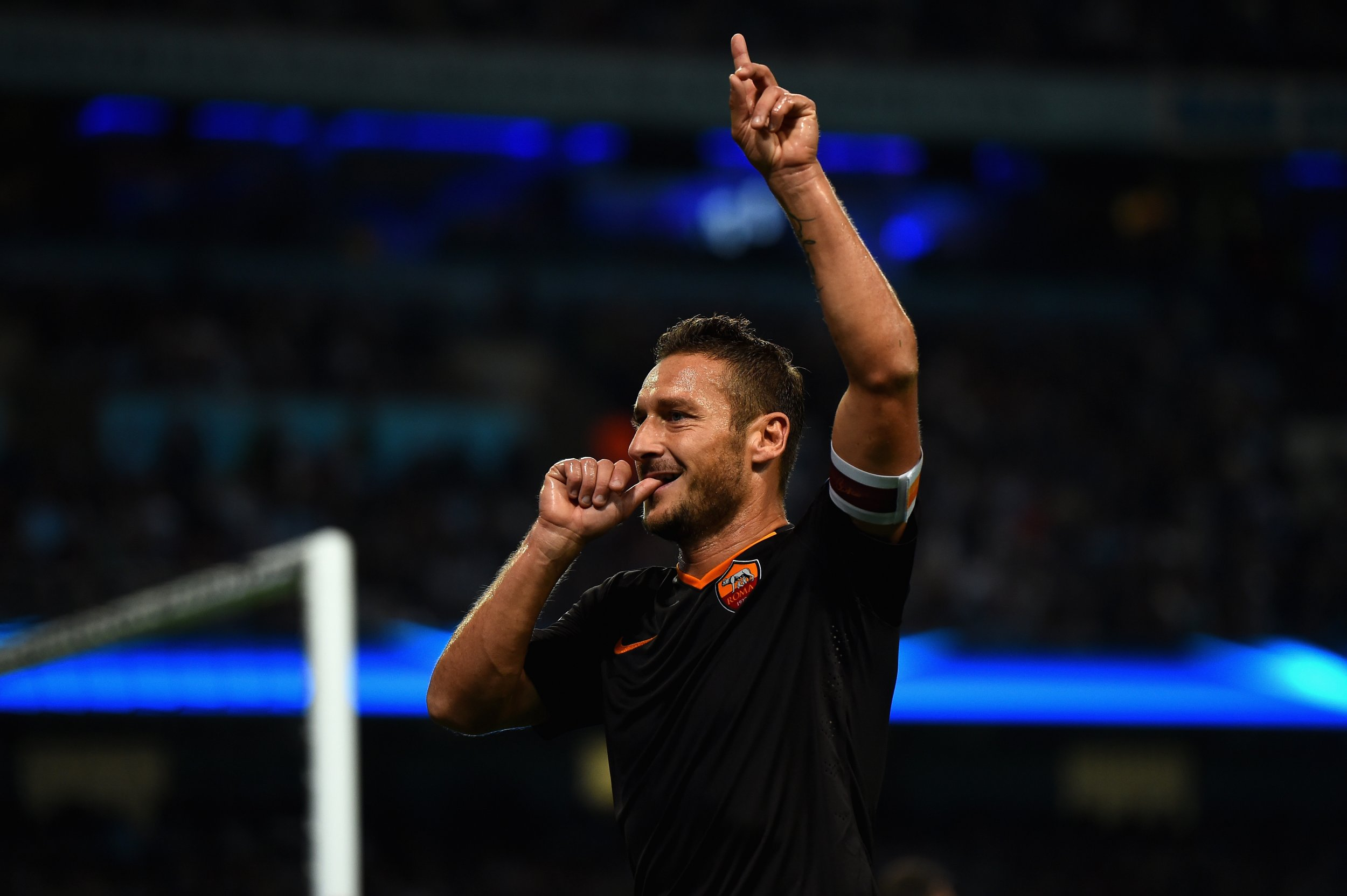 Francesco Totti is The Muhammad Ali of Football Says Roma Coach