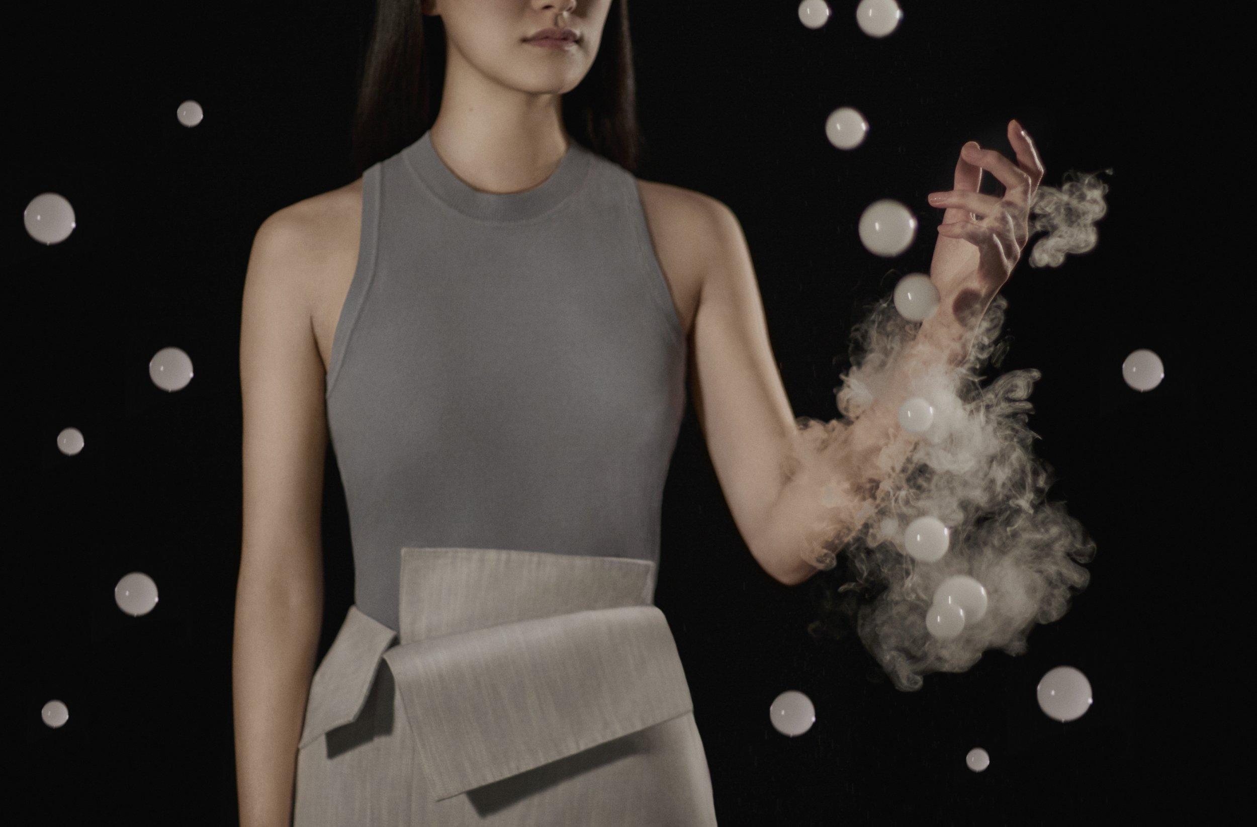 Bubbles burst on a model