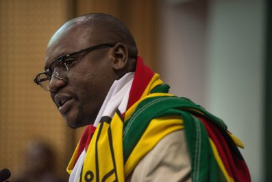 Evan Mawarire Zimbabwe pastor
